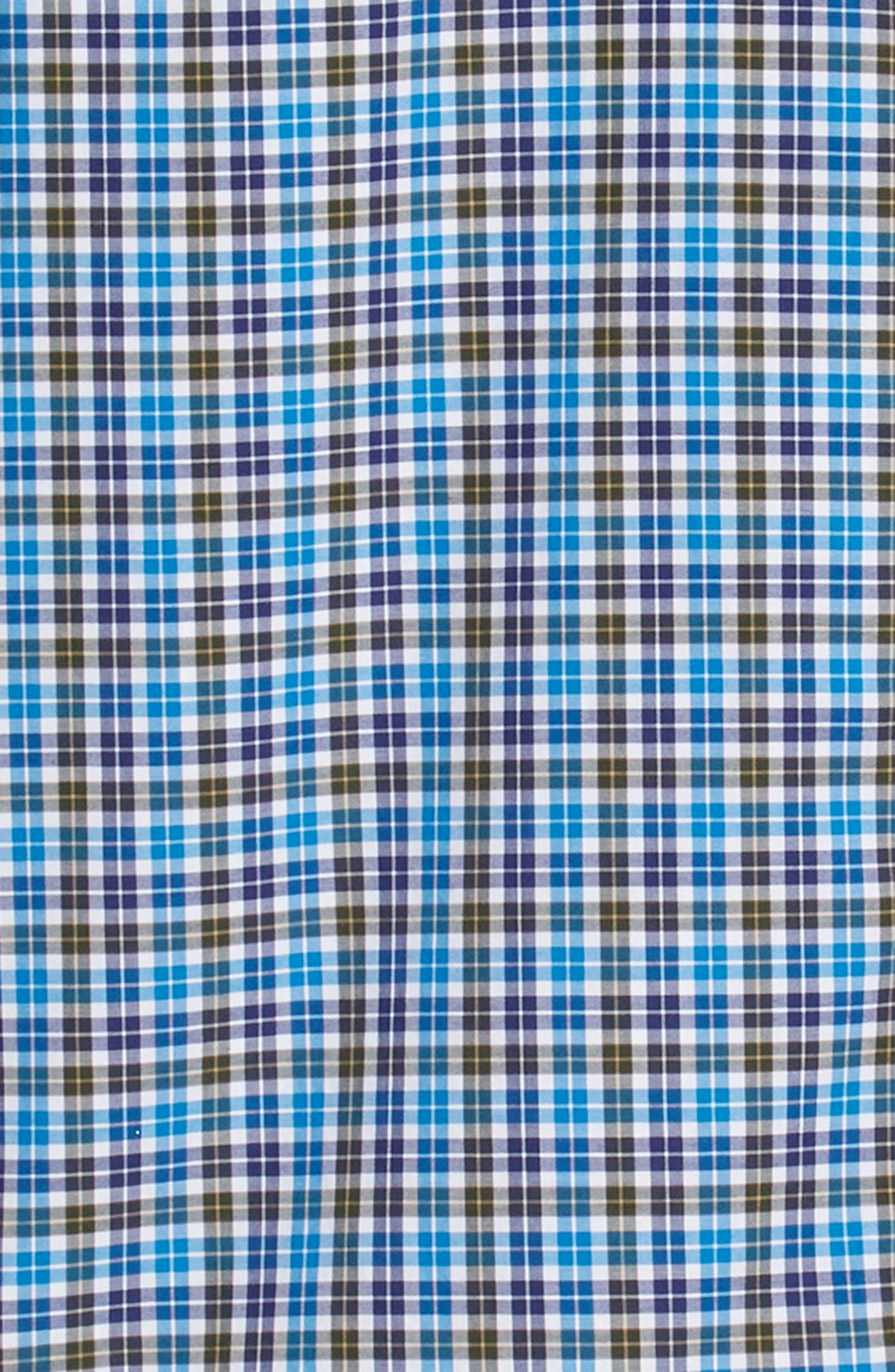 Crown Finish Salthill Check Regular Fit Sport Shirt,                             Alternate thumbnail 6, color,                             408