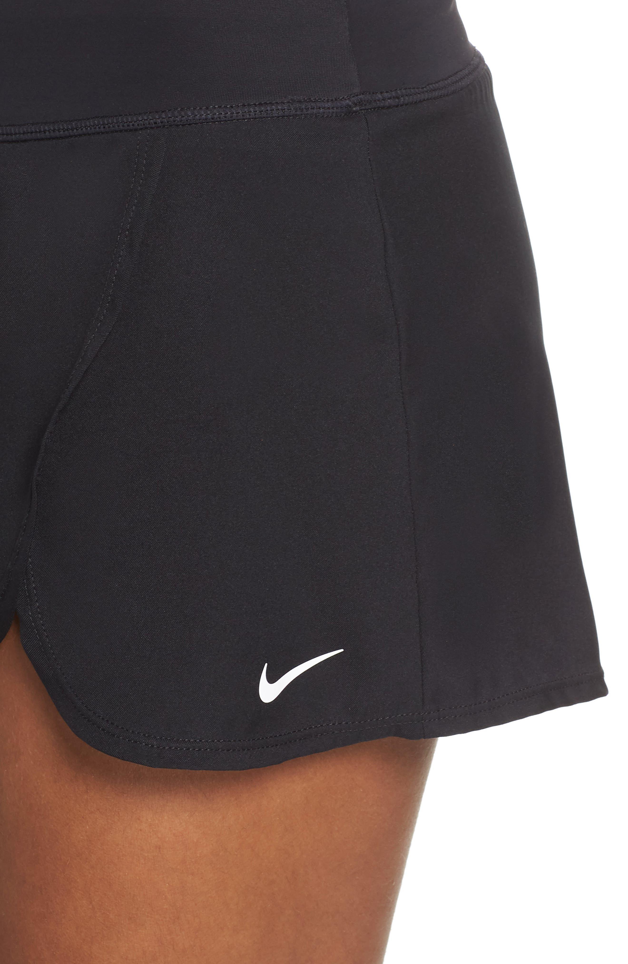 Swim Board Skirt,                             Alternate thumbnail 4, color,                             BLACK