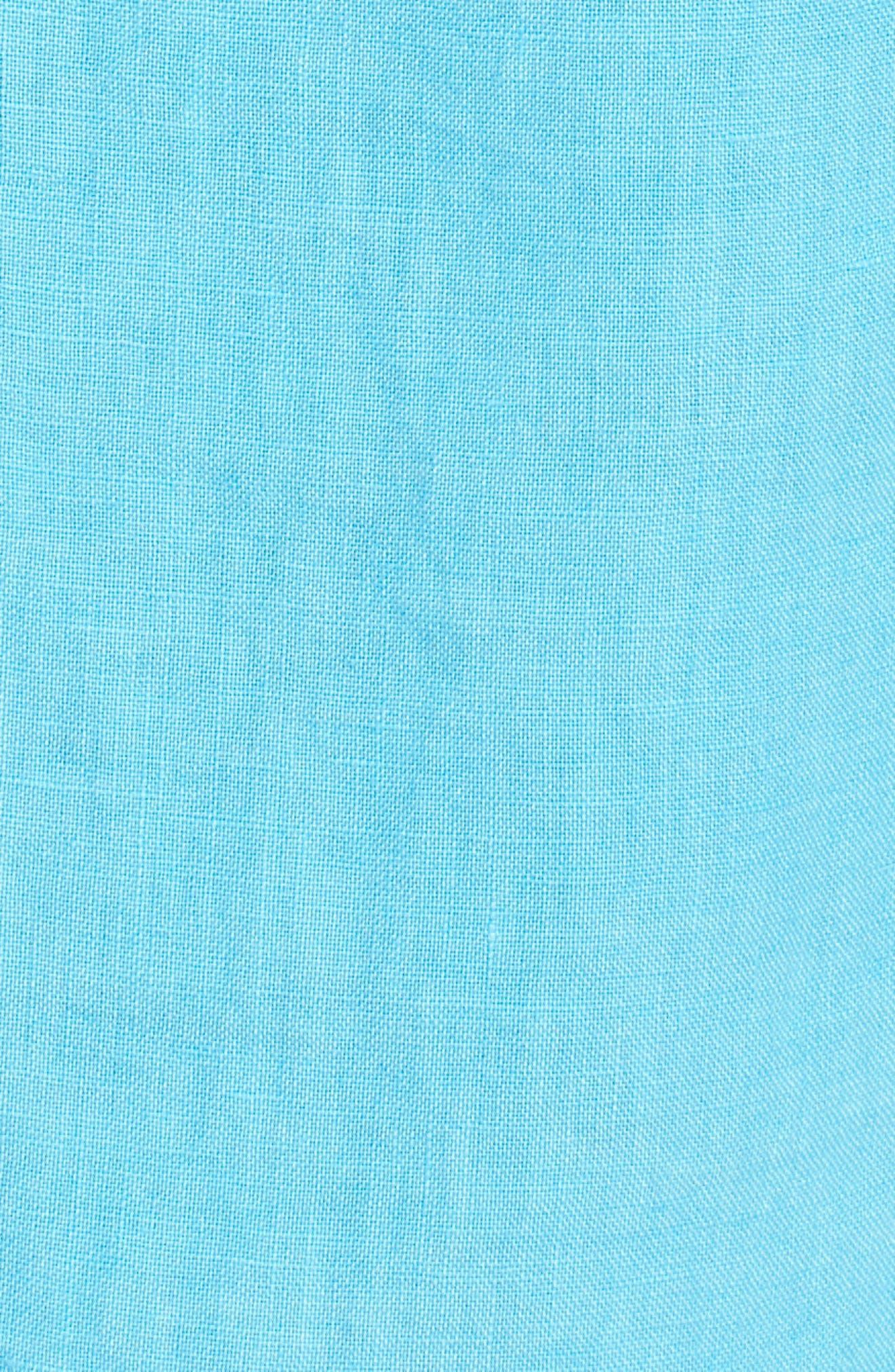 Seaspray Breezer Linen Shirt,                             Alternate thumbnail 19, color,