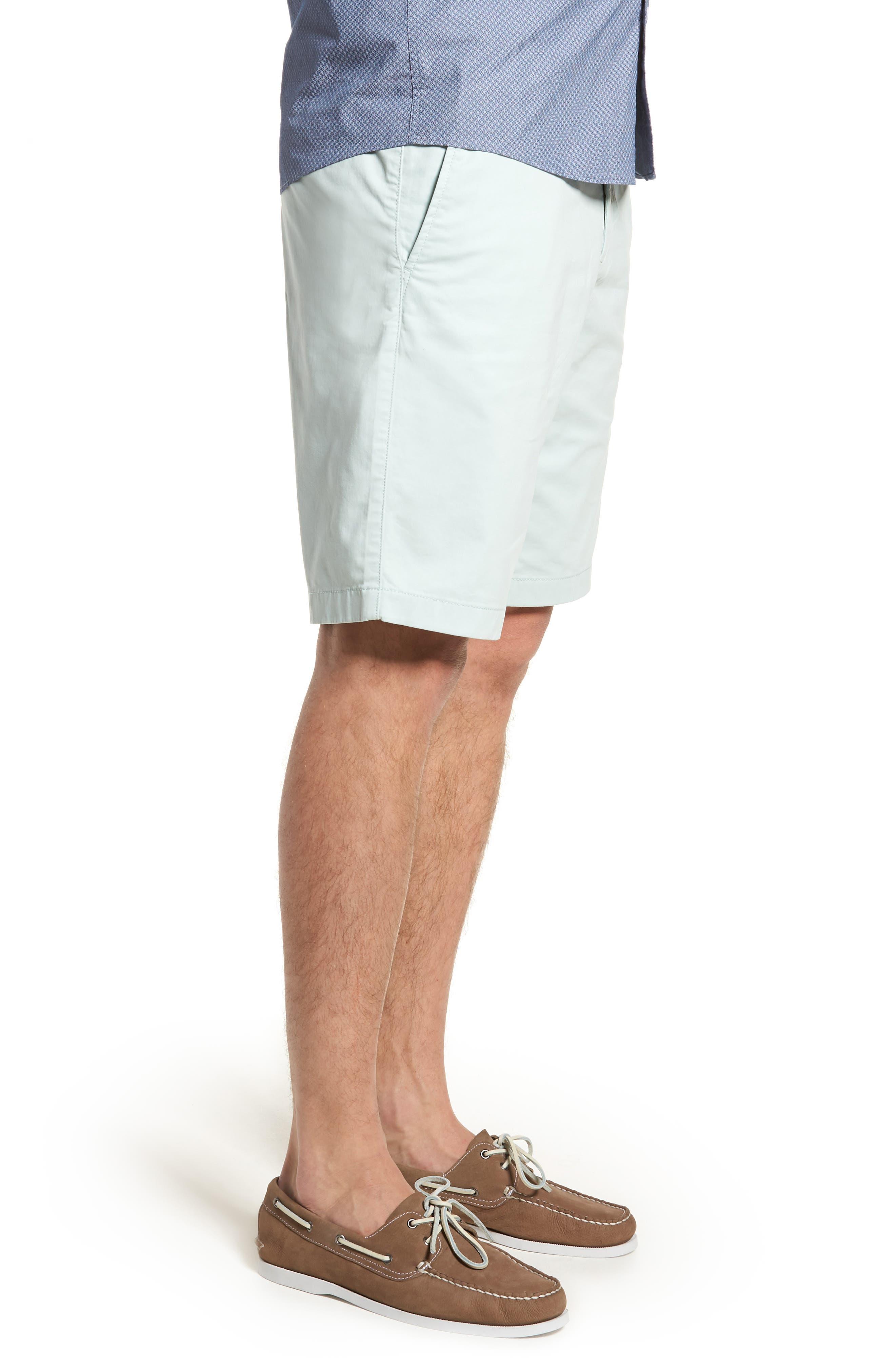 Ballard Slim Fit Stretch Chino 11-Inch Shorts,                             Alternate thumbnail 46, color,