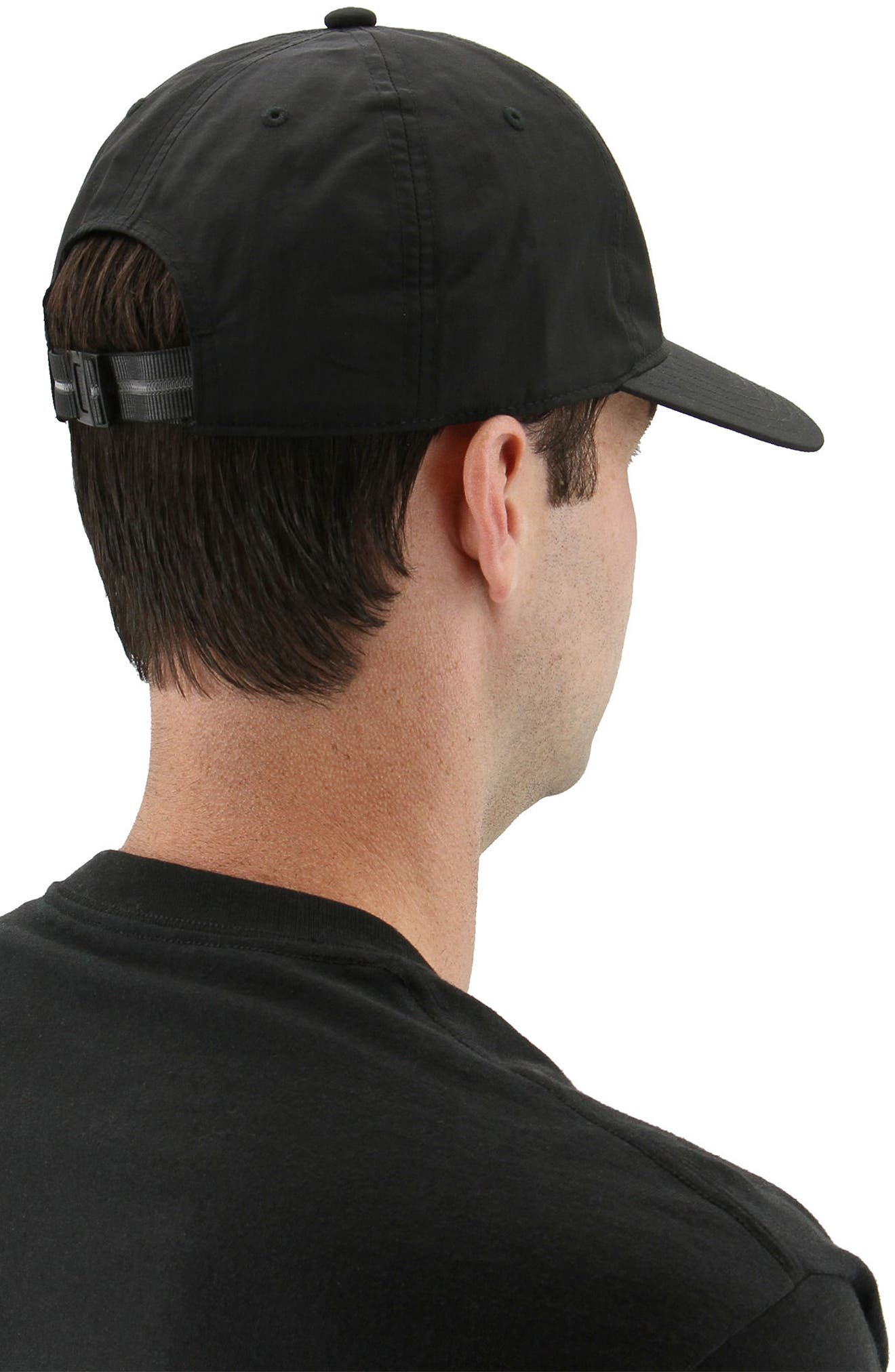 Relaxed Logo Baseball Cap,                             Alternate thumbnail 6, color,                             001