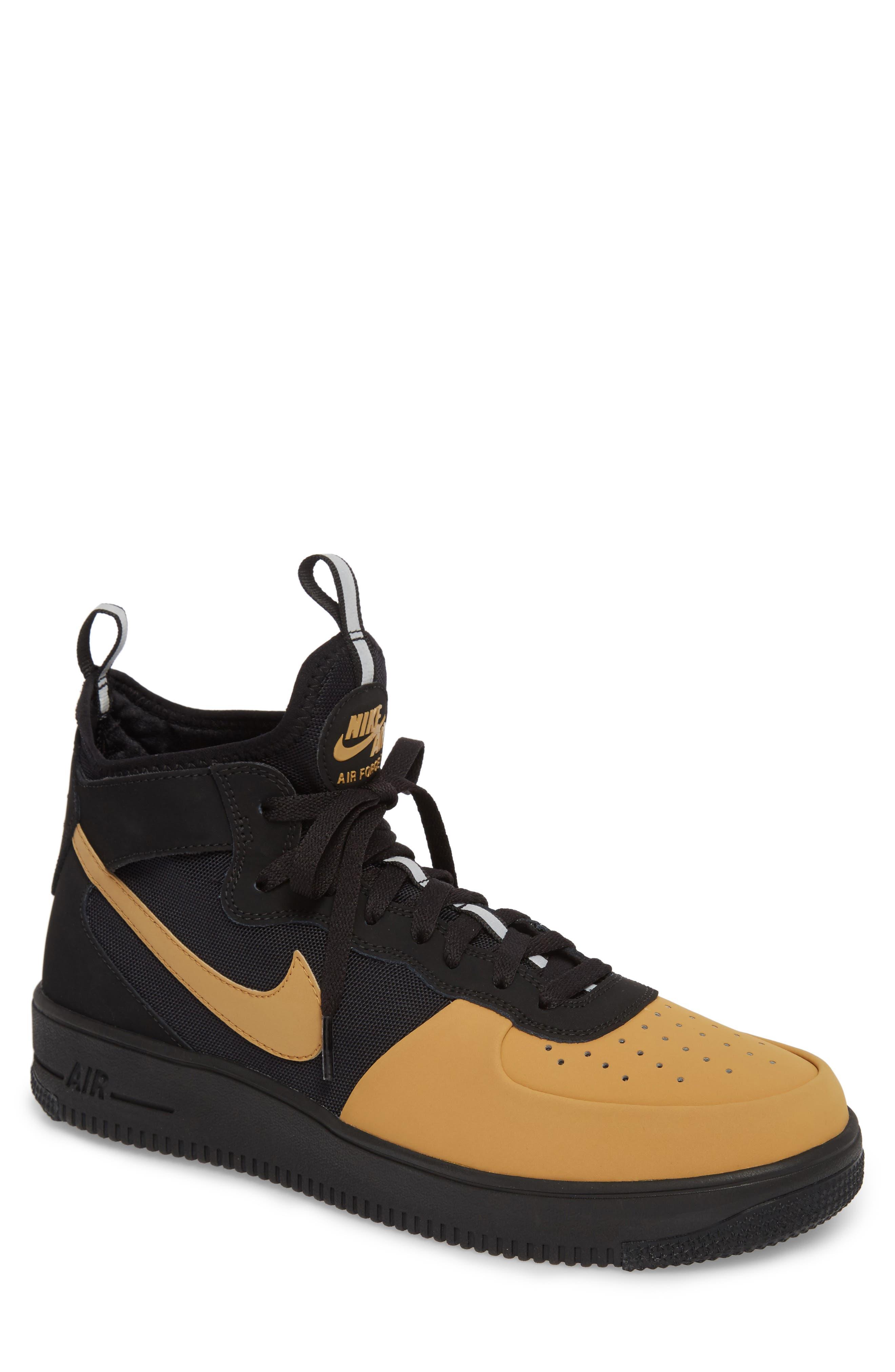 Air Force 1 Ultraforce Mid Tech Sneaker,                             Main thumbnail 1, color,                             002