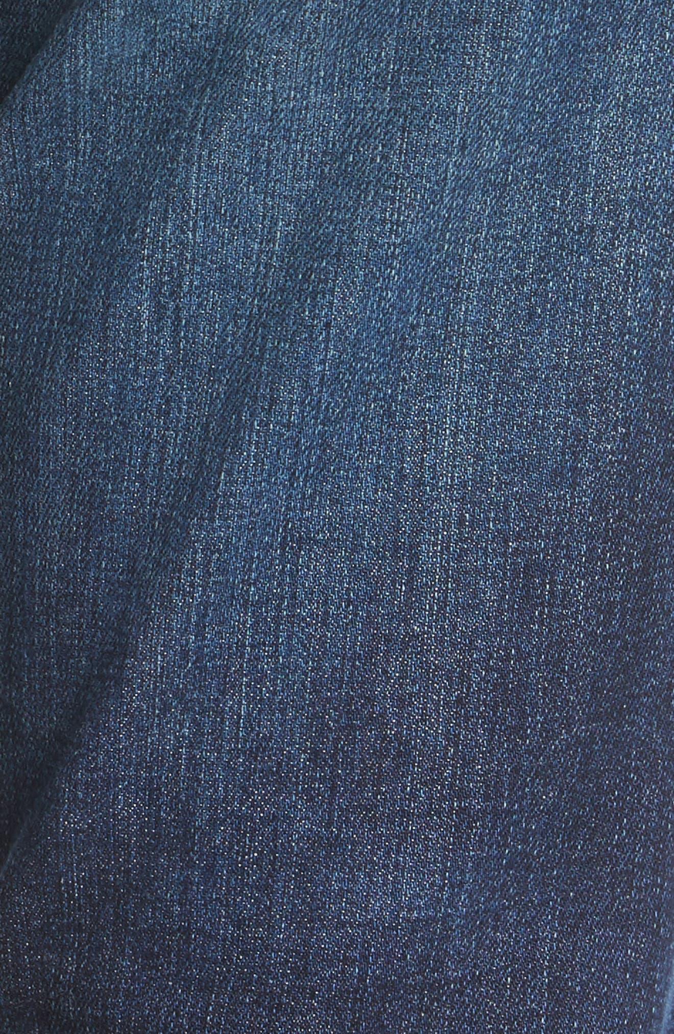 The Isabelle Crop Straight Leg Jeans,                             Alternate thumbnail 5, color,                             466