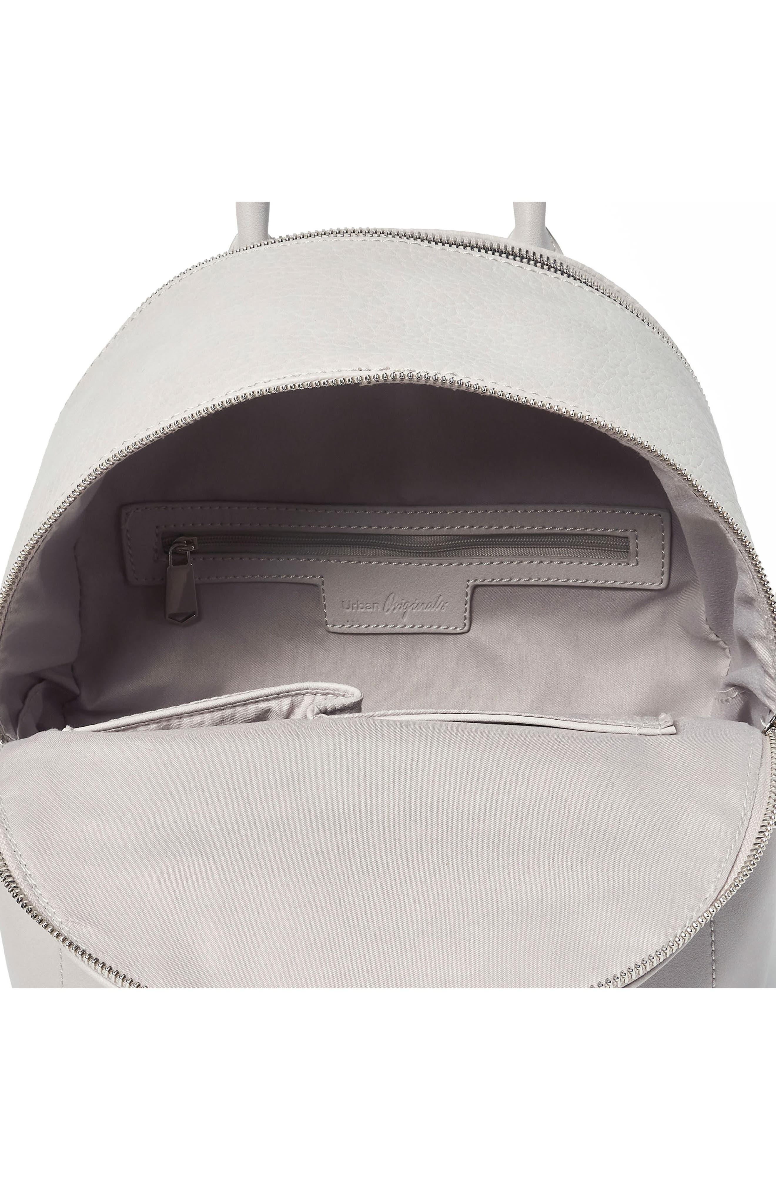 Into the Night Vegan Leather Backpack,                             Alternate thumbnail 8, color,