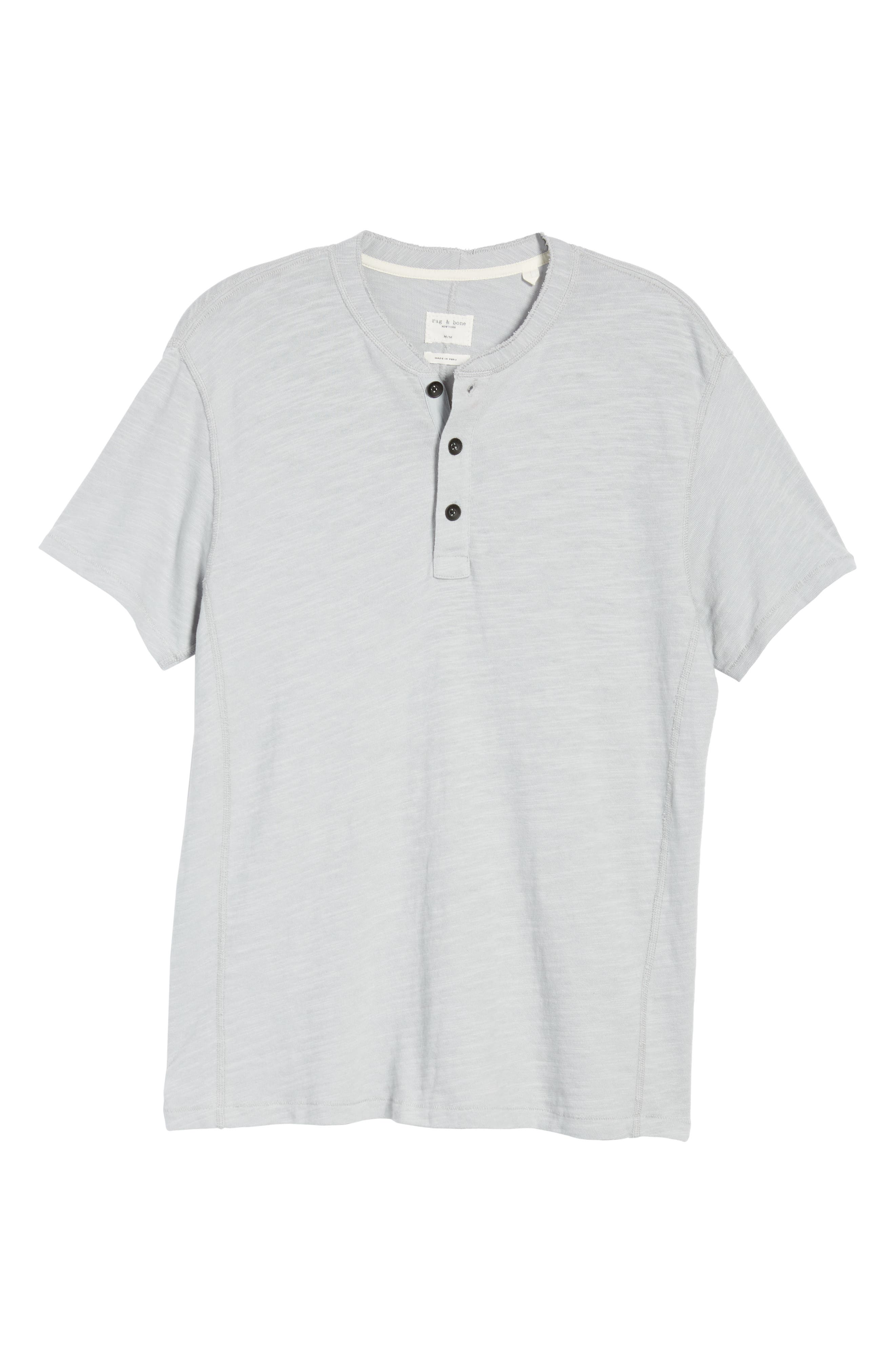 Standard Issue Henley,                             Alternate thumbnail 6, color,                             BLUE GREY