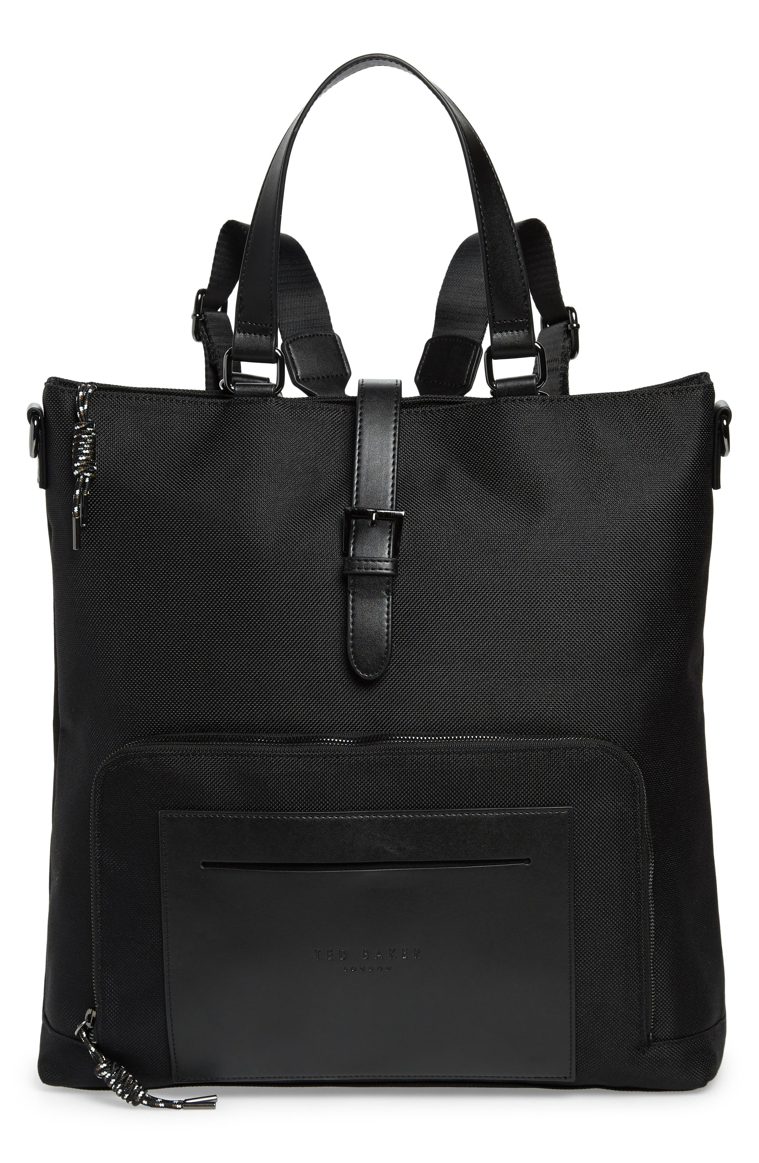 TED BAKER Tidee Convertible Backpack - Black