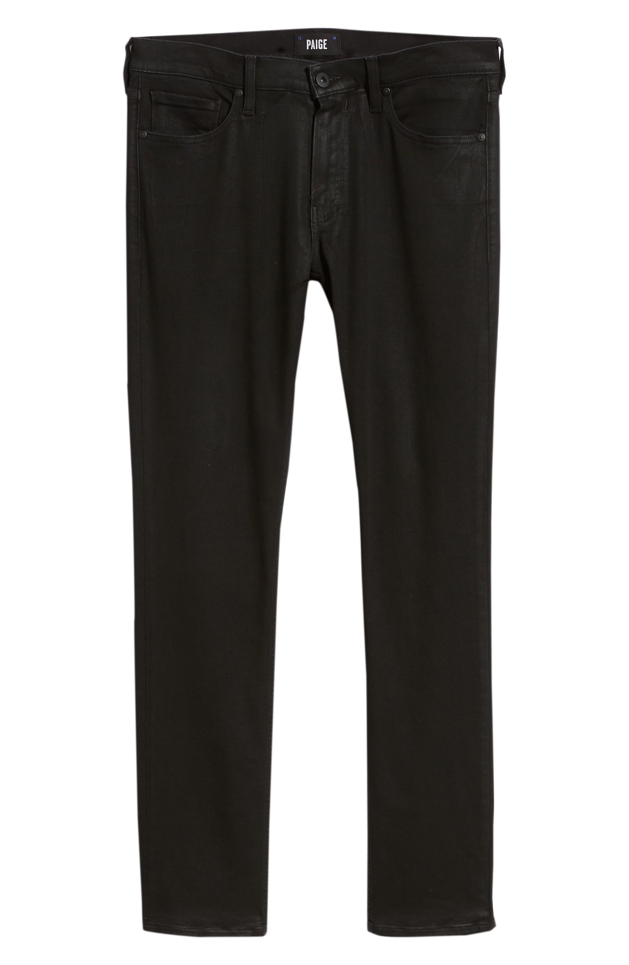 Transcend - Croft Skinny Fit Jeans,                             Alternate thumbnail 6, color,                             400