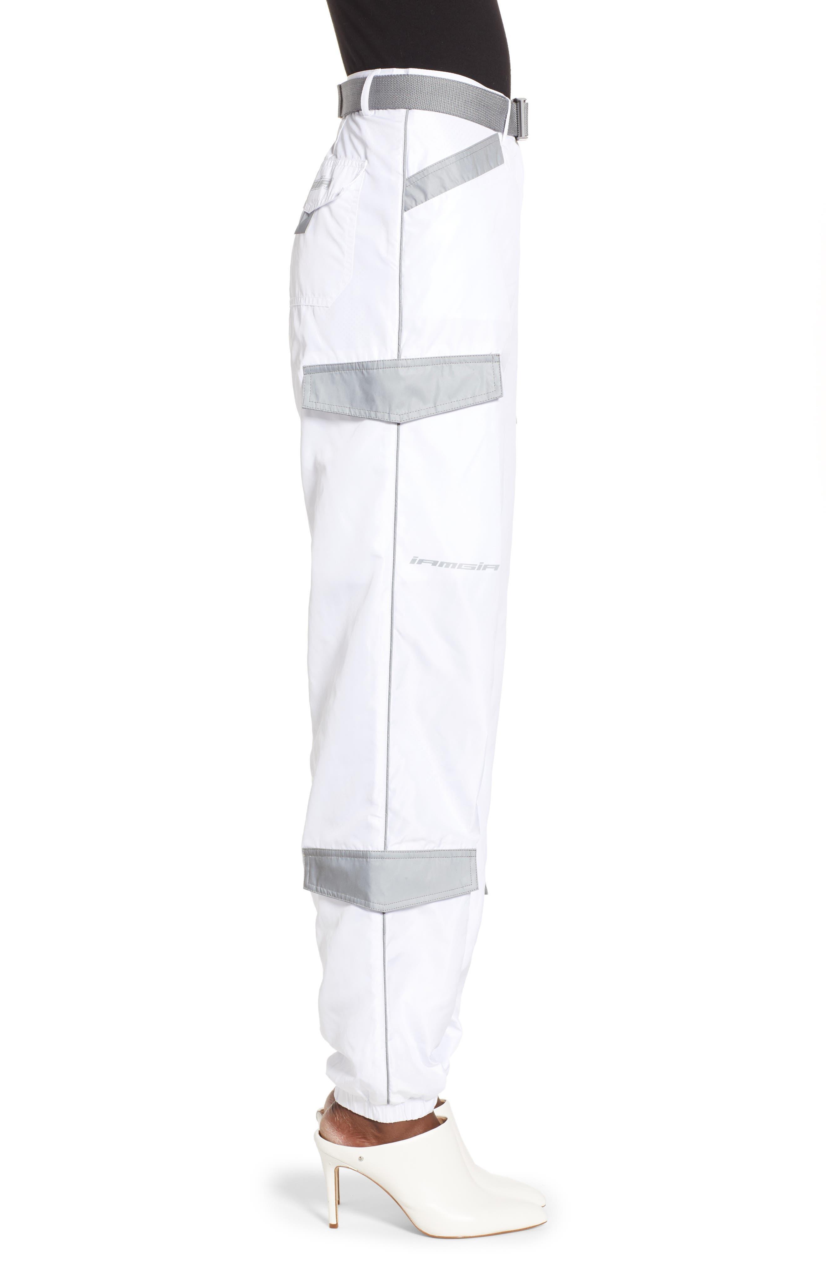 Halo Pants,                             Alternate thumbnail 3, color,                             WHITE