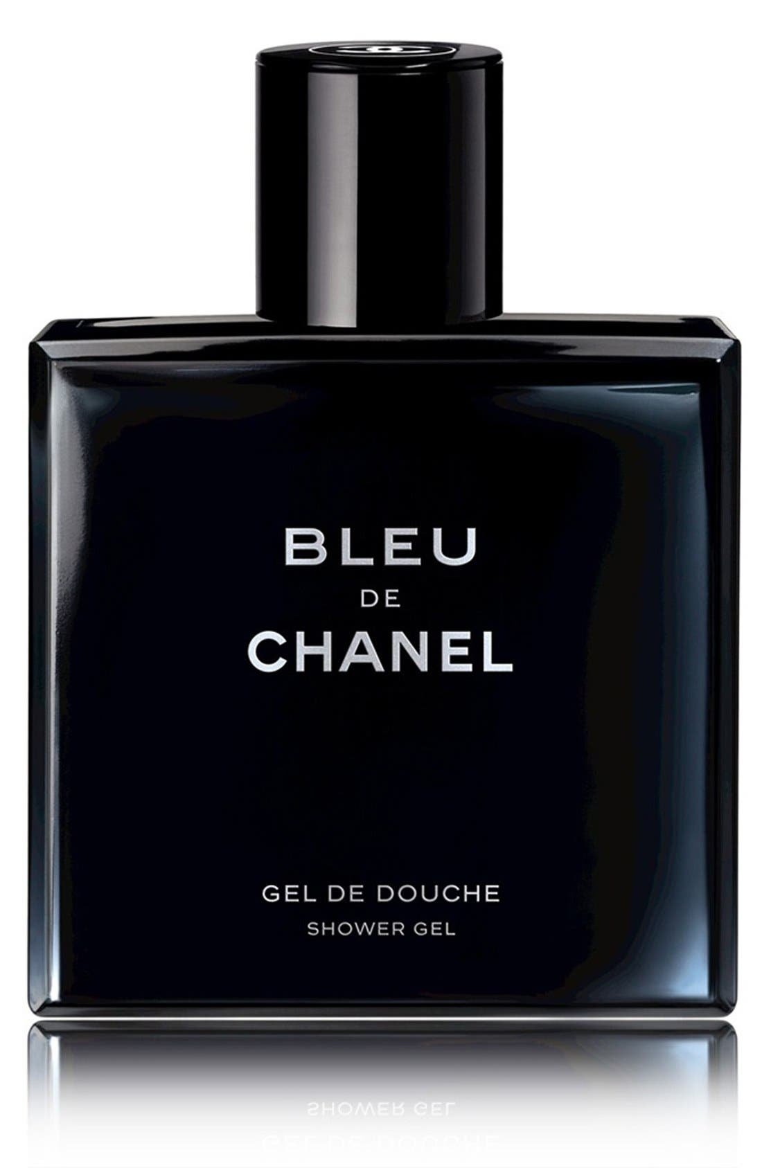 CHANEL,                             BLEU DE CHANEL<br />Shower Gel,                             Main thumbnail 1, color,                             000