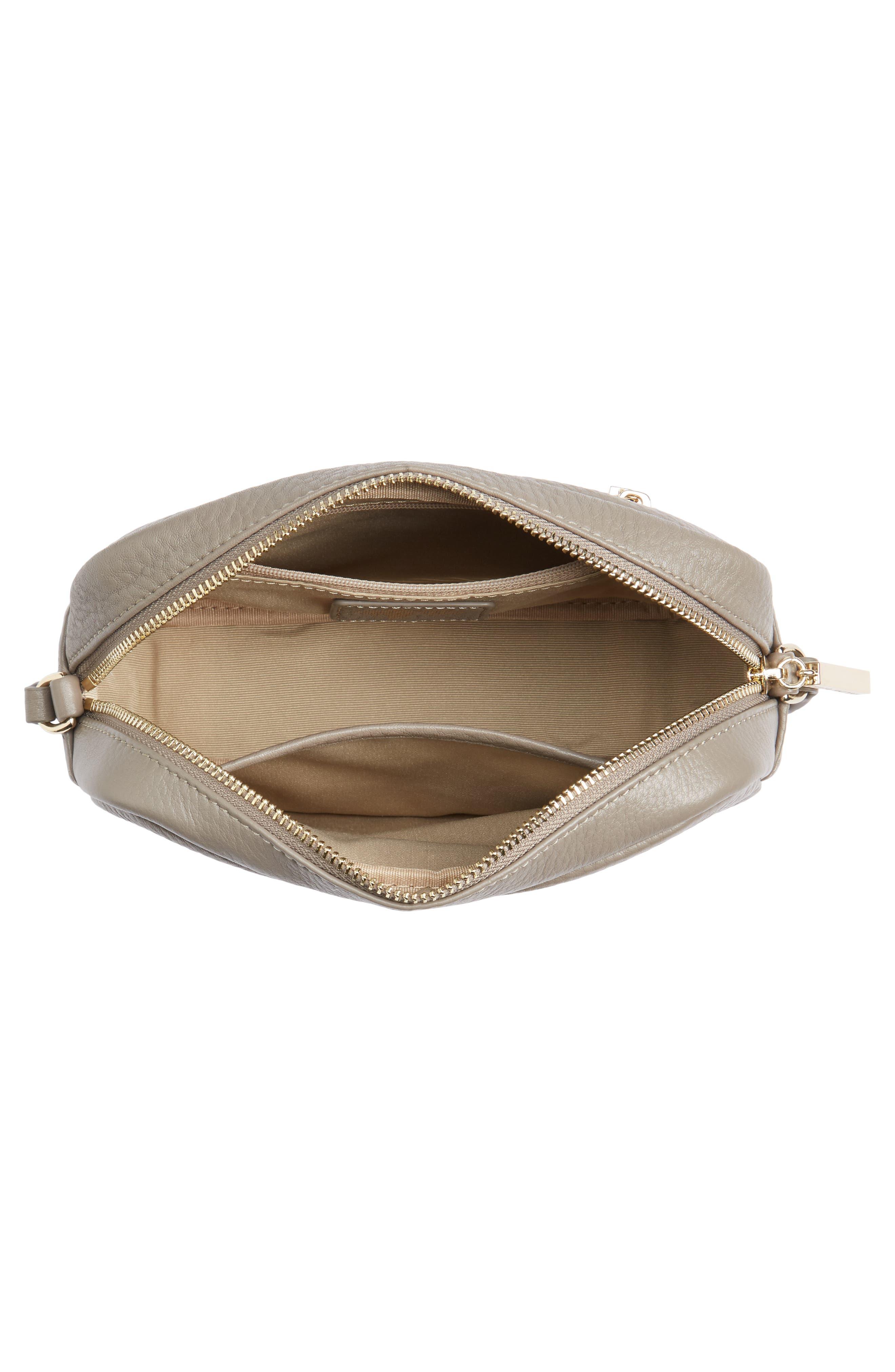 Céline Dion Adagio Leather Camera Crossbody Bag,                             Alternate thumbnail 12, color,