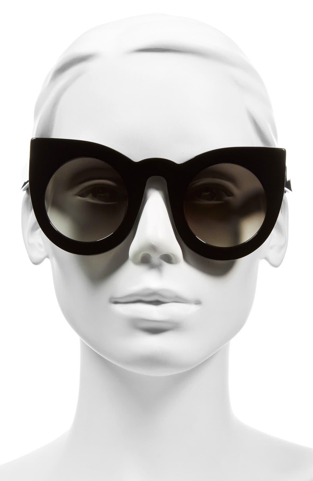 VALLEY,                             'Wolves' 52mm Sunglasses,                             Alternate thumbnail 2, color,                             001