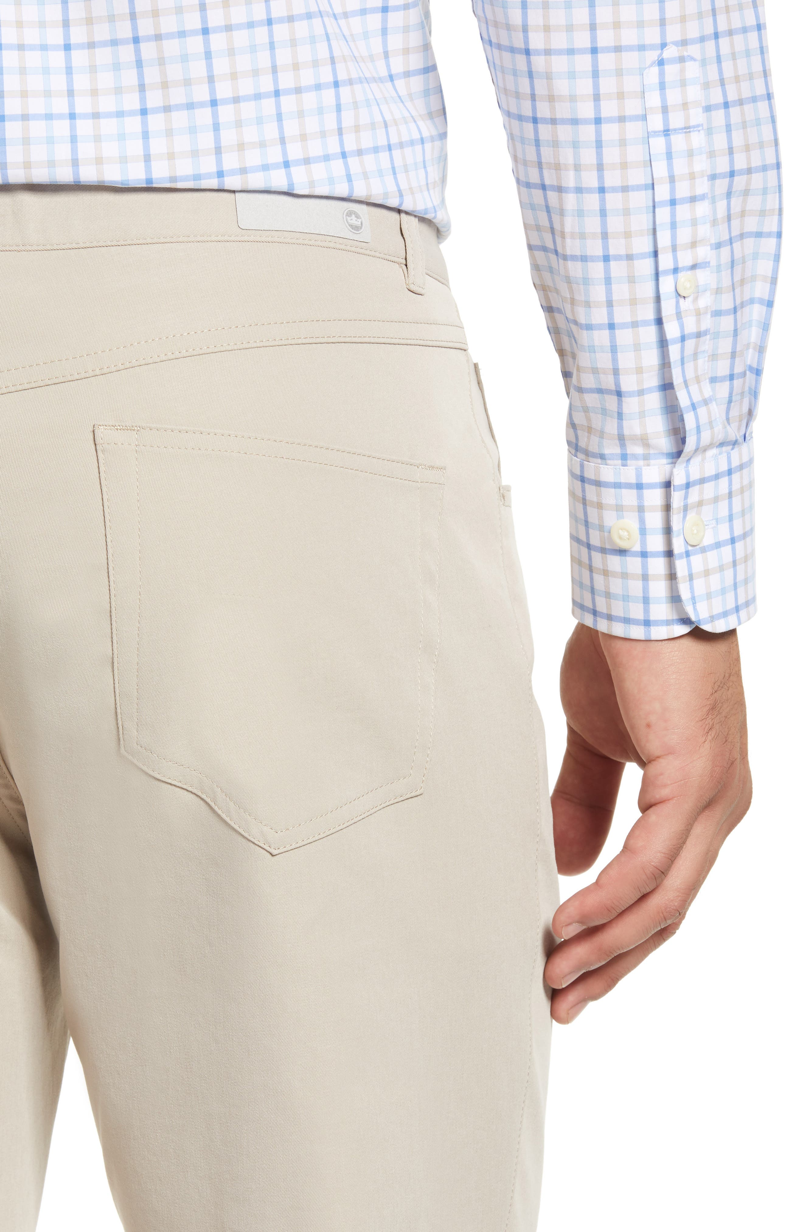 eb66 Regular Fit Performance Pants,                             Alternate thumbnail 4, color,                             BEIGE