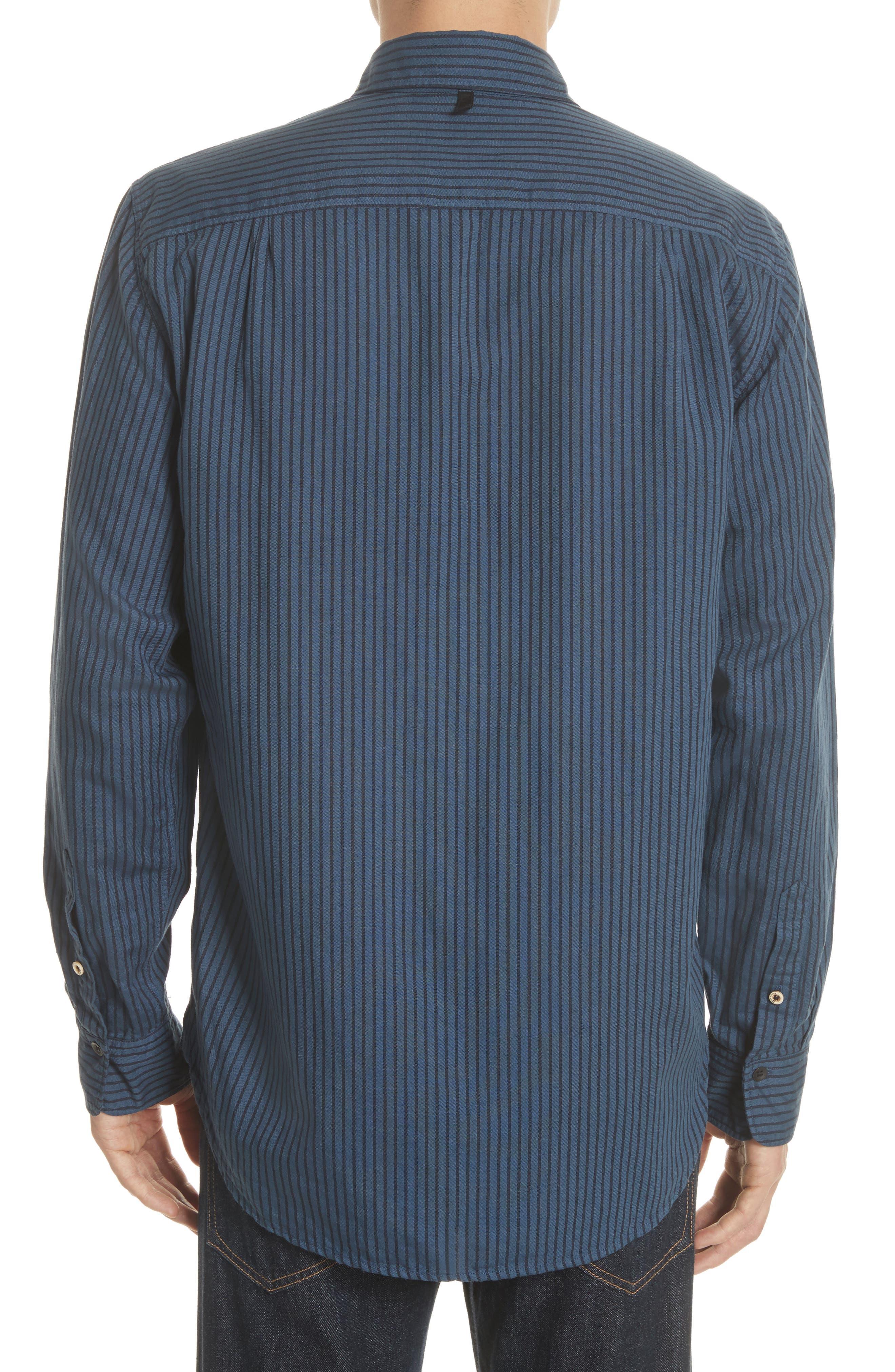 Beach Fit 3 Stripe Shirt,                             Alternate thumbnail 2, color,