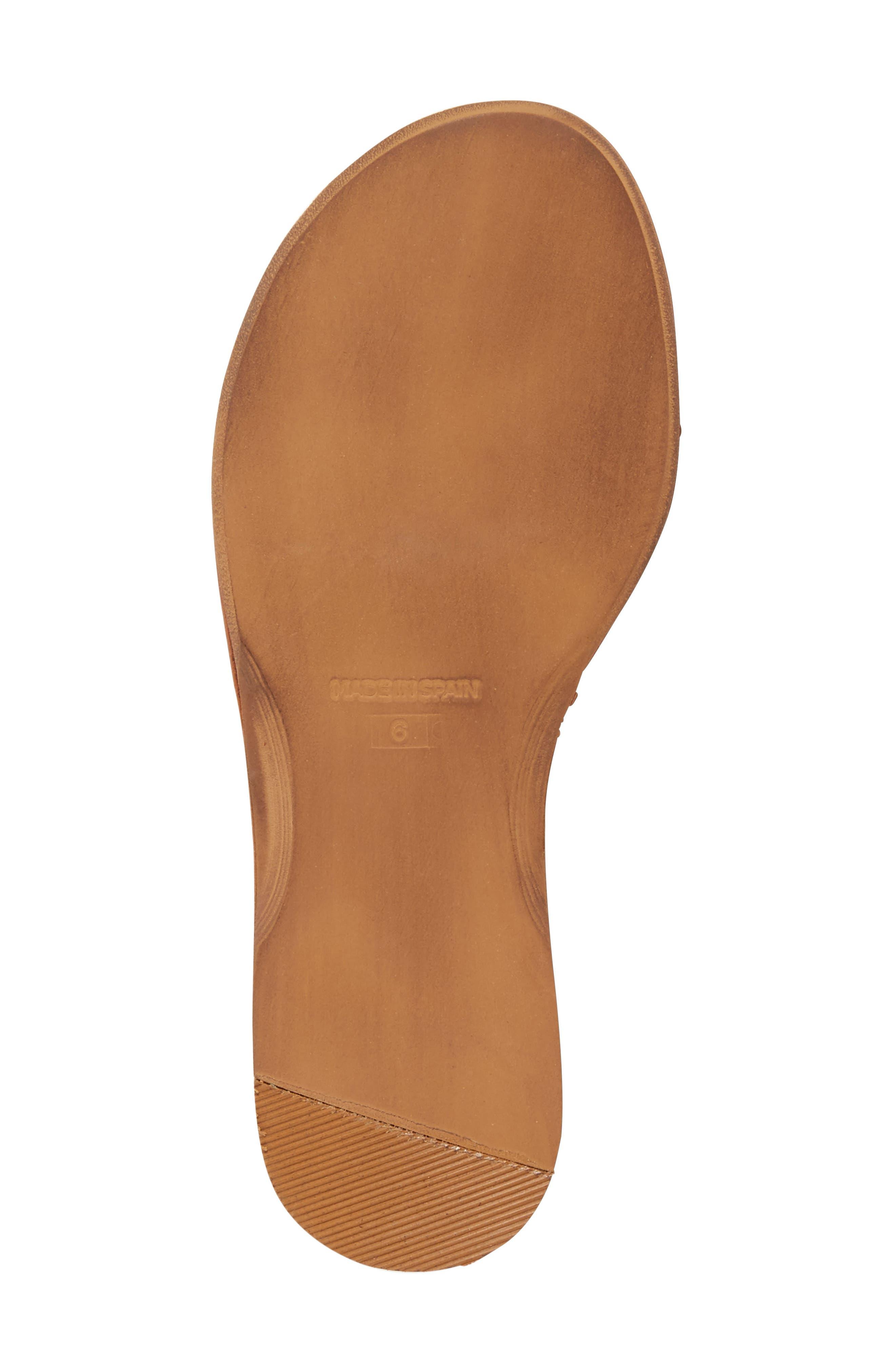 Bronte Tassel Lace-Up Sandal,                             Alternate thumbnail 4, color,                             250