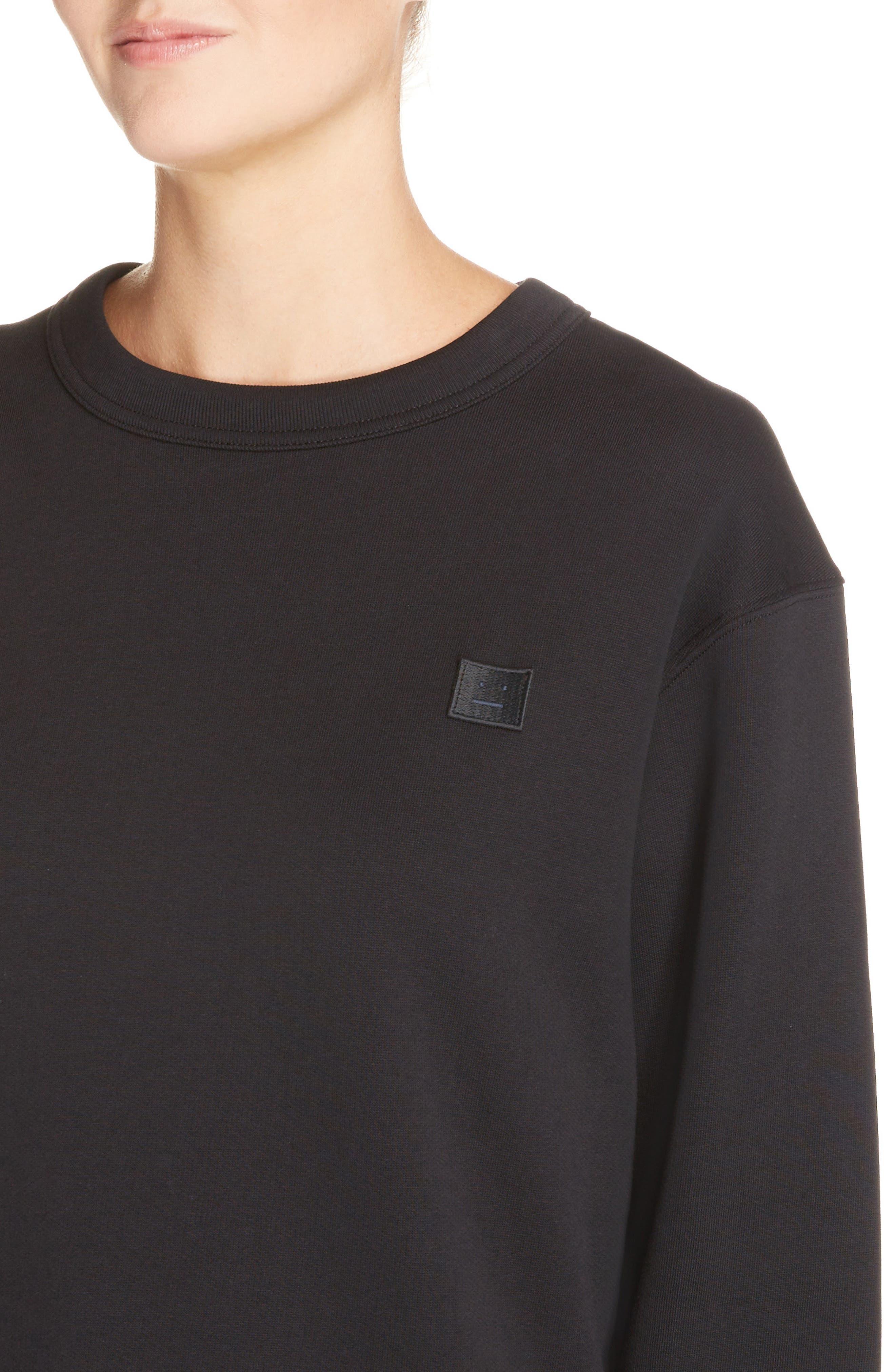 Fairview Crewneck Sweatshirt,                             Alternate thumbnail 4, color,                             001