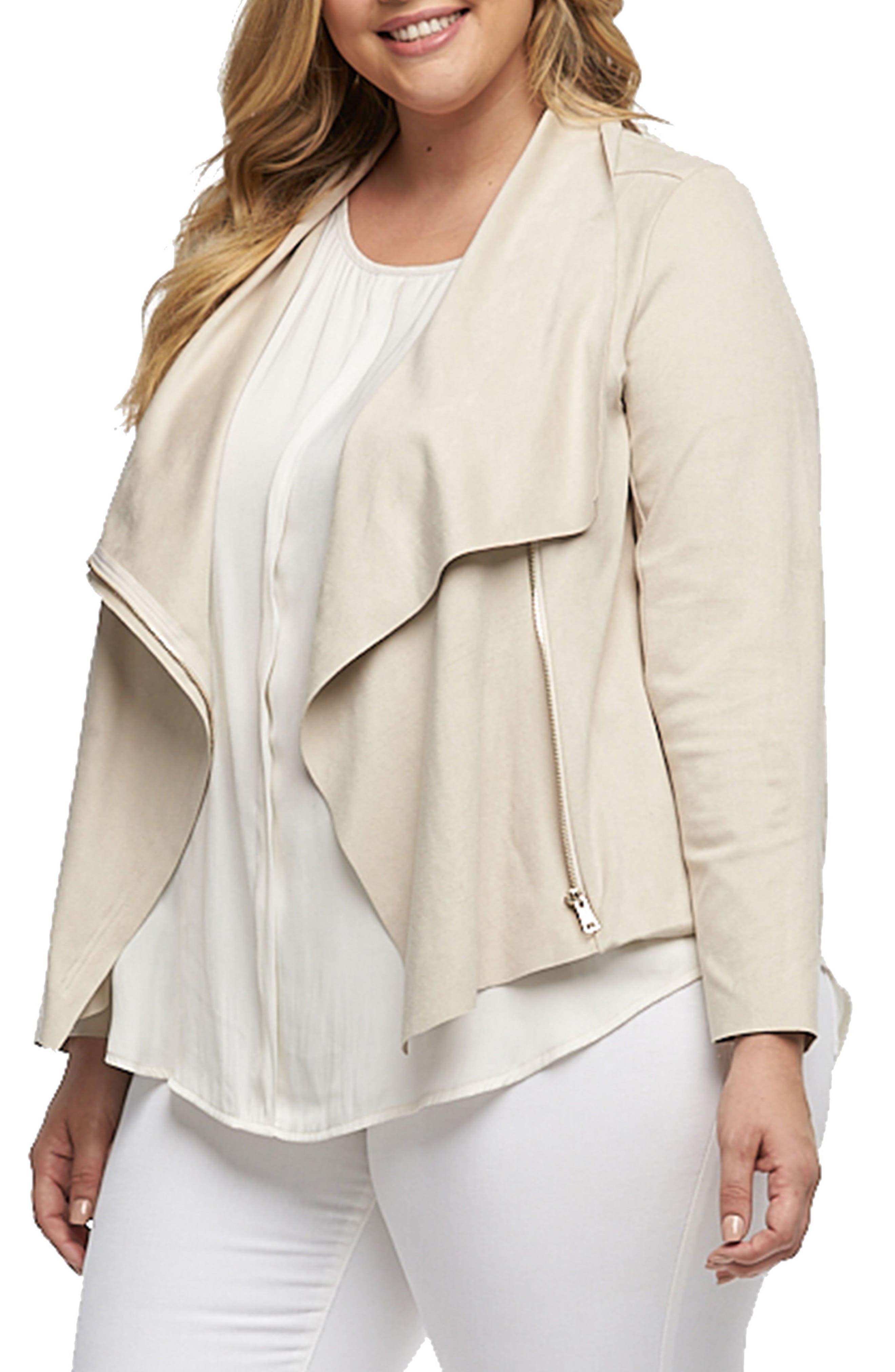 Sayna Drape Front Asymmetrical Jacket,                             Alternate thumbnail 3, color,                             900