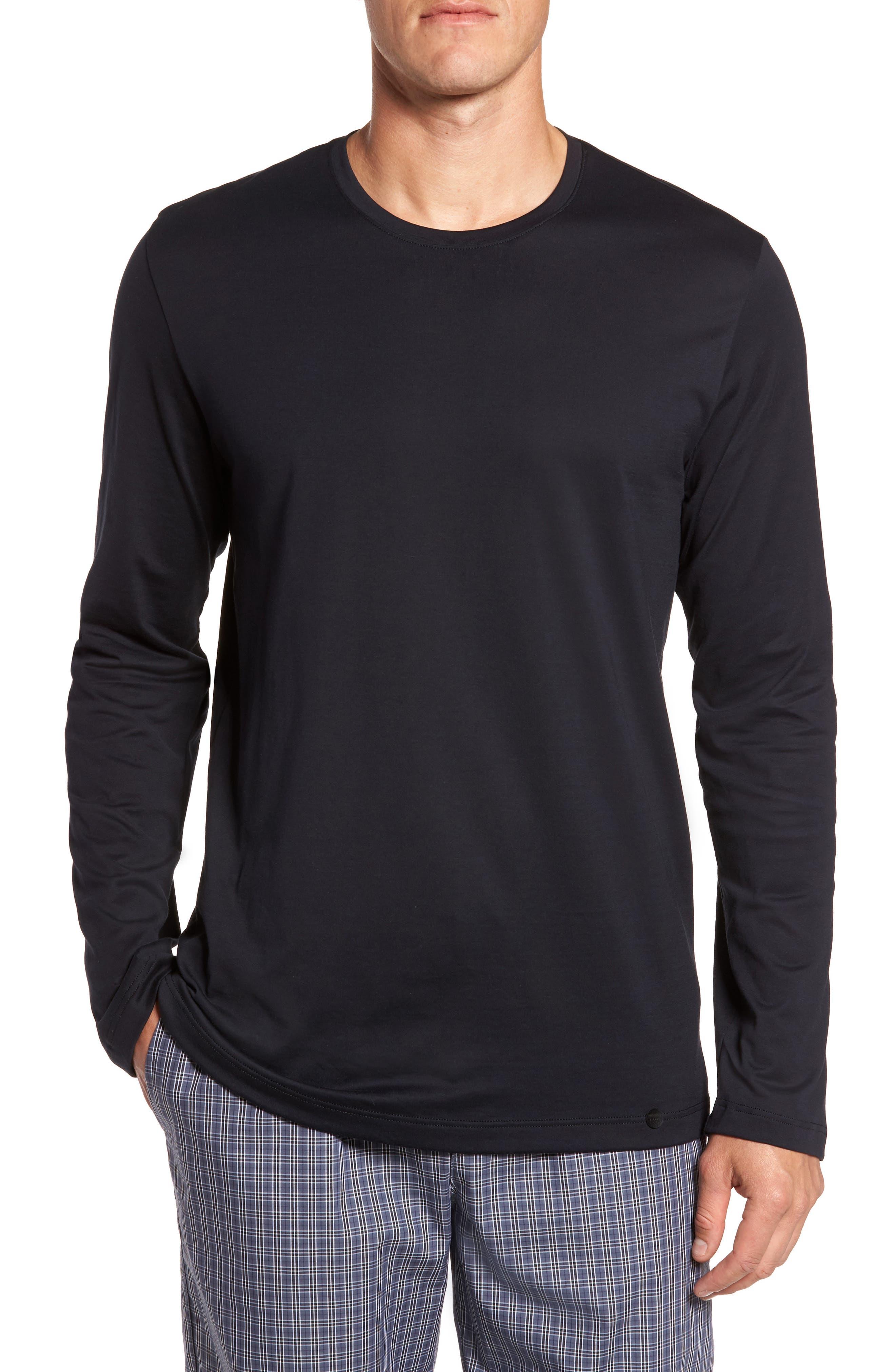 Night & Day Lounge T-Shirt,                             Main thumbnail 1, color,                             BLACK