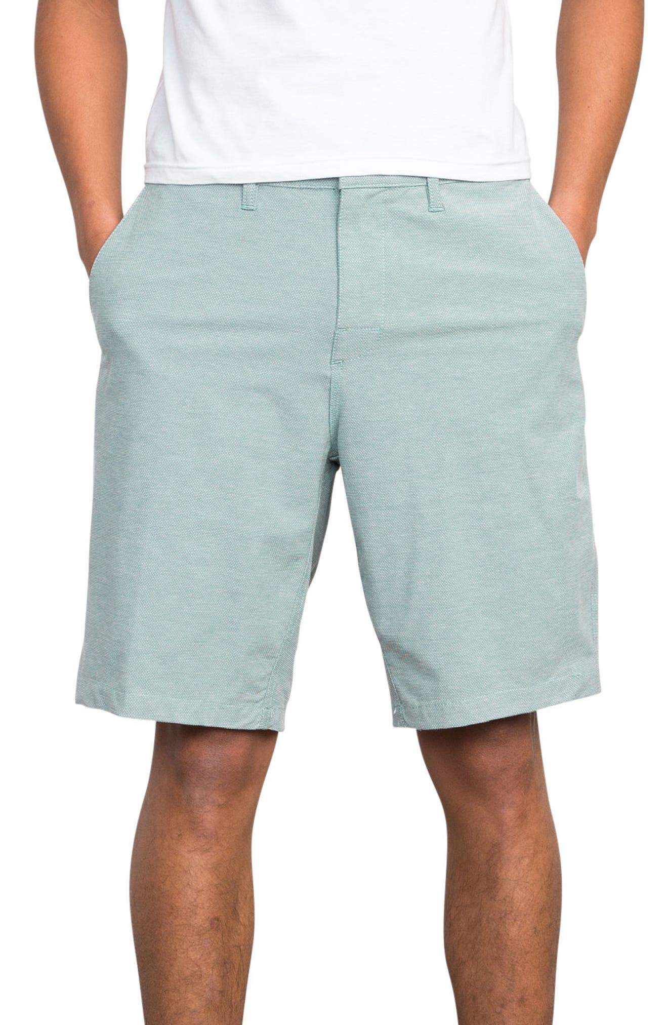 Holidaze Hybrid Shorts,                             Main thumbnail 1, color,                             PINE TREE