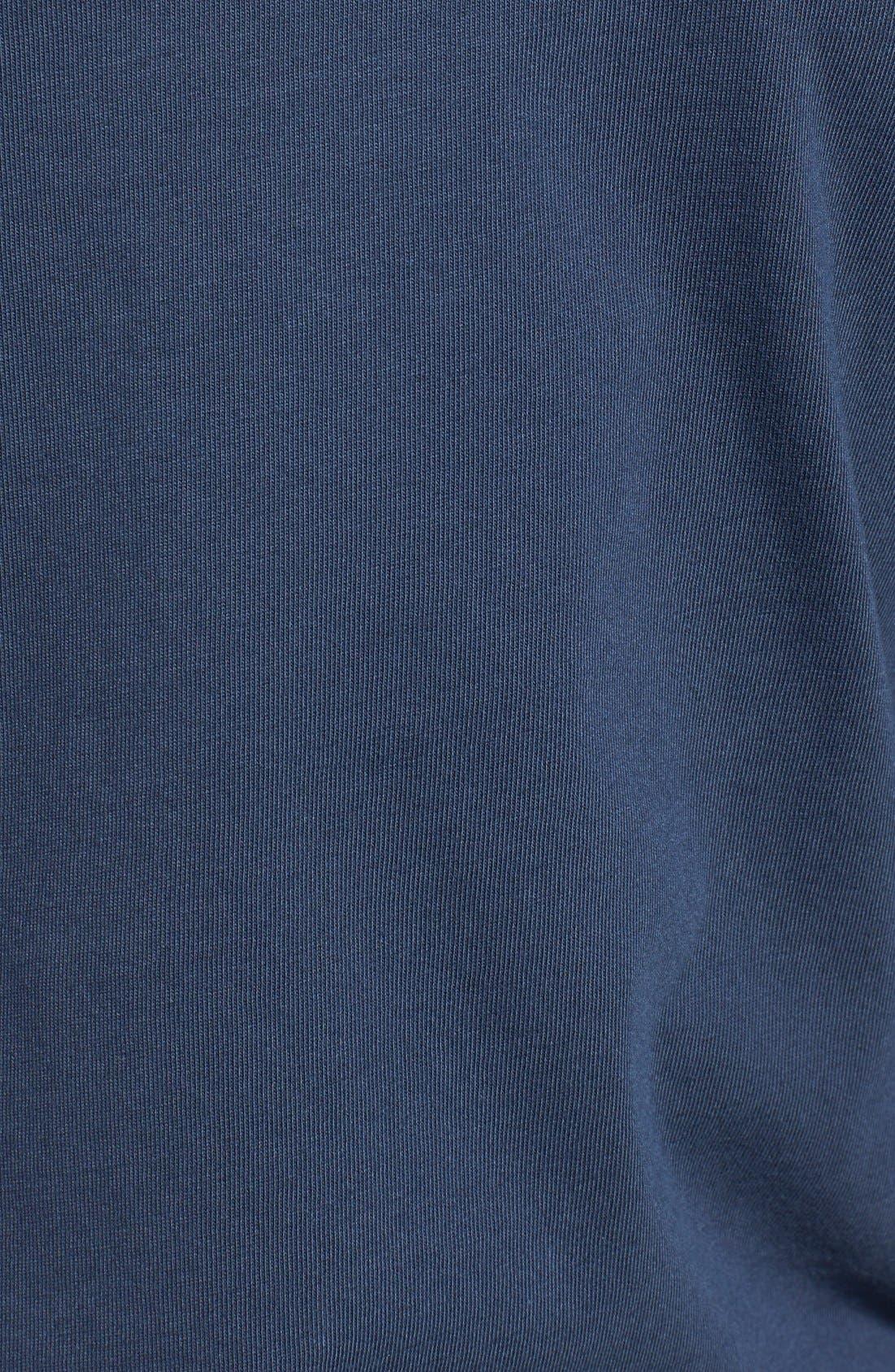 Logo Pocket Long Sleeve Crewneck T-Shirt,                             Alternate thumbnail 3, color,                             410