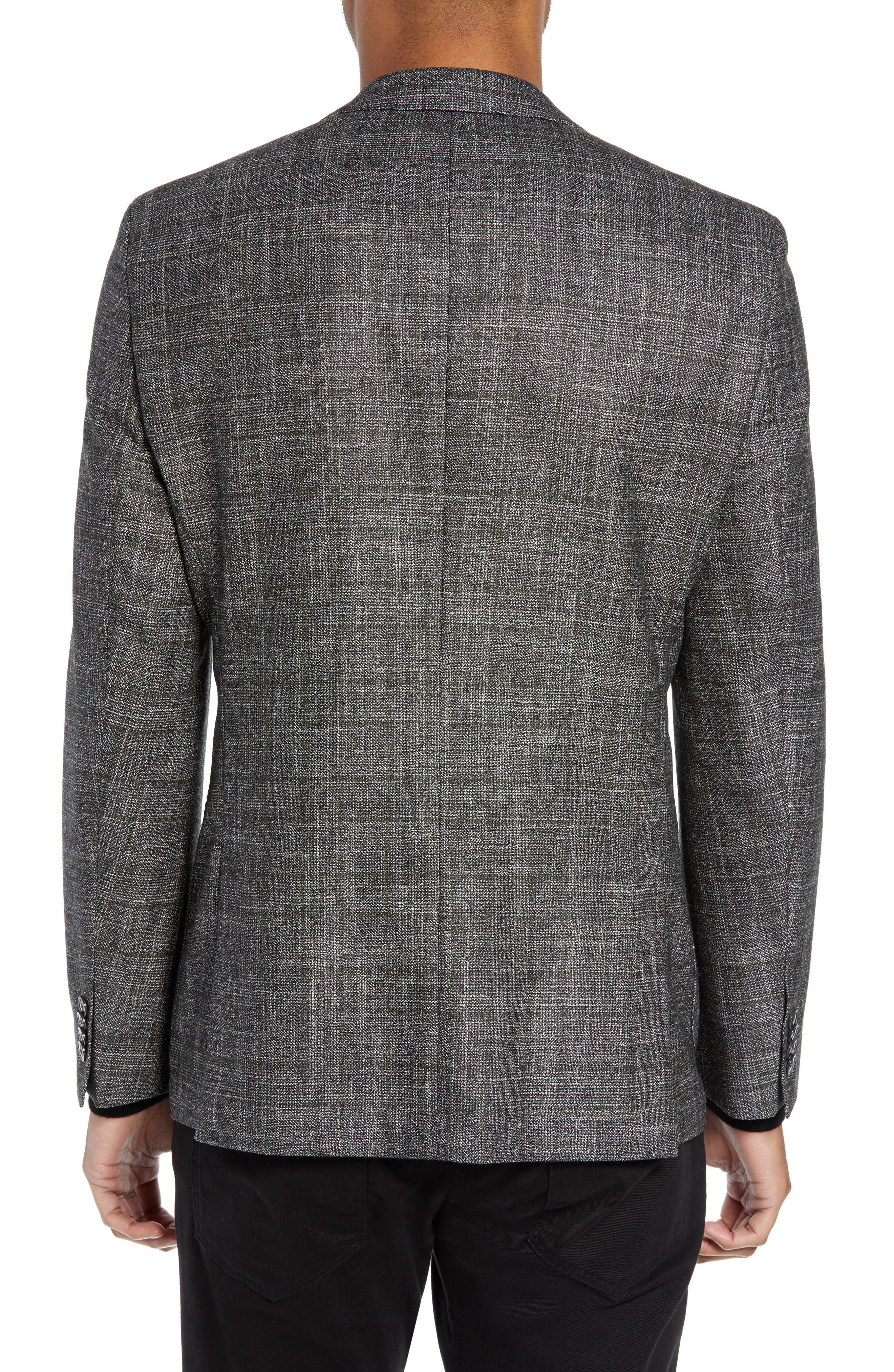 Janson Trim Fit Plaid Wool Blend Sport Coat,                             Alternate thumbnail 2, color,                             061