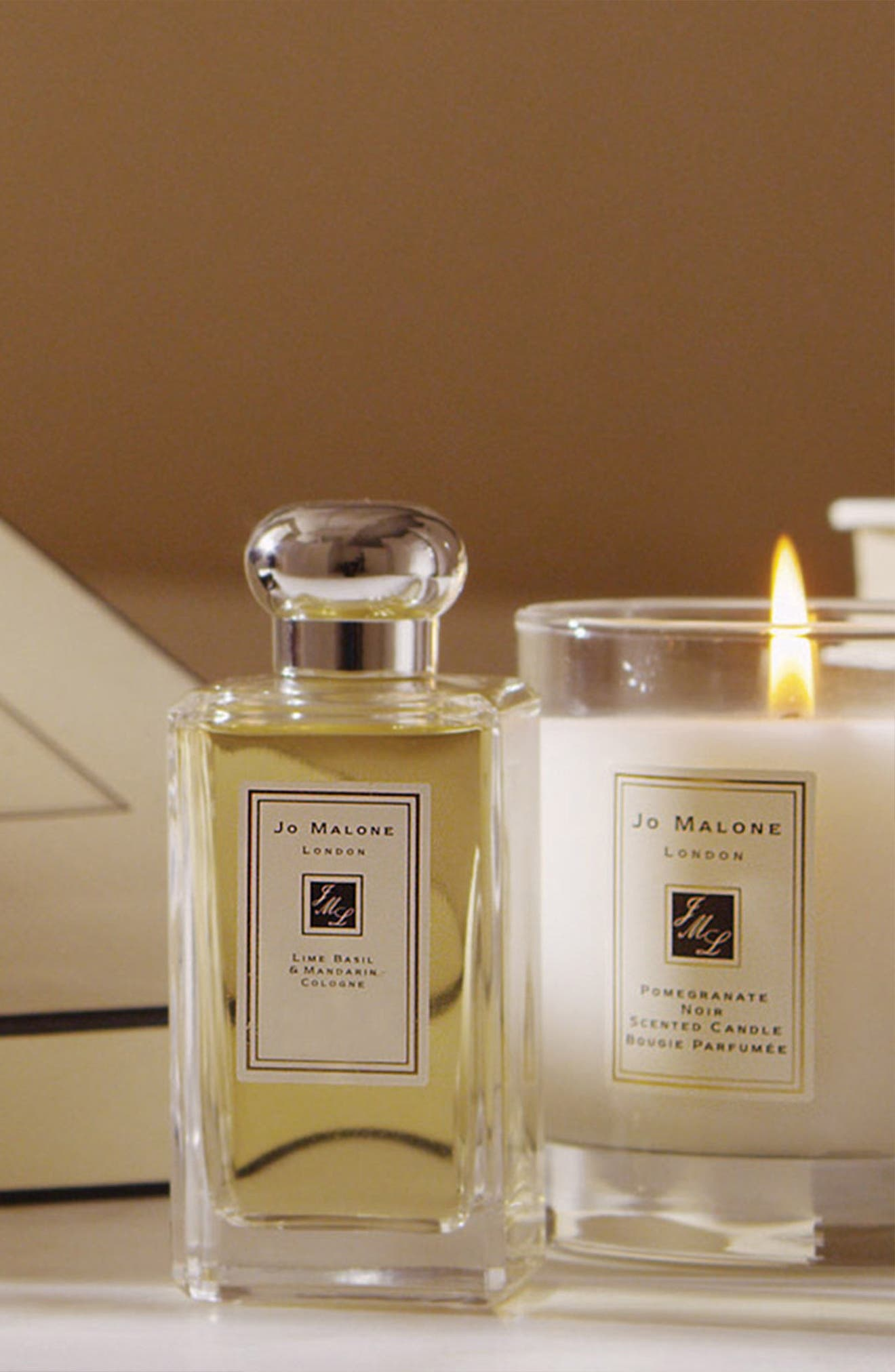 Jo Malone<sup>™</sup> 'Pomegranate Noir' Deluxe Candle,                             Alternate thumbnail 5, color,                             000