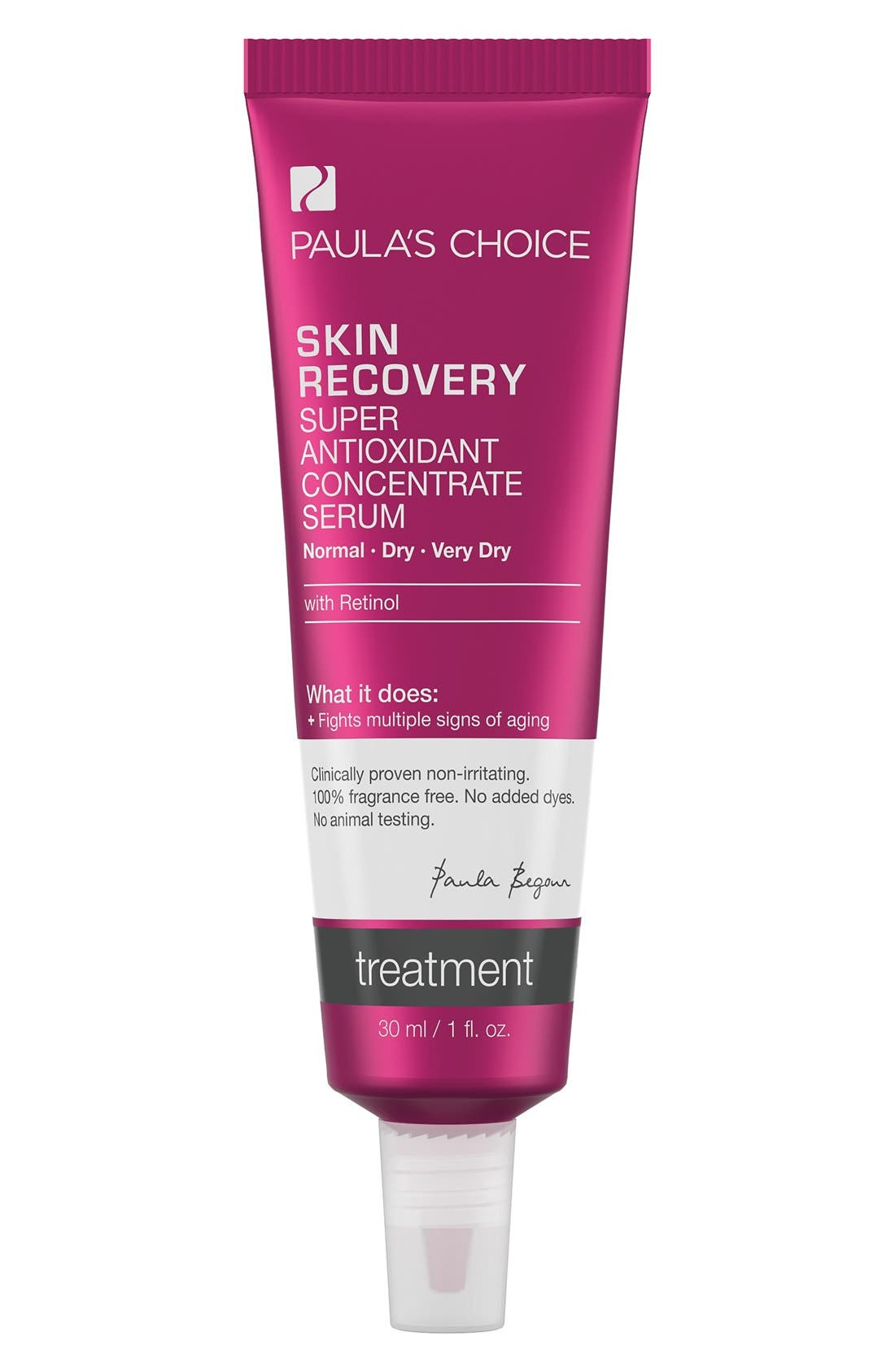 PAULA'S CHOICE Skin Recovery Super Antioxidant Concentrate Serum with Retinol, Main, color, 000