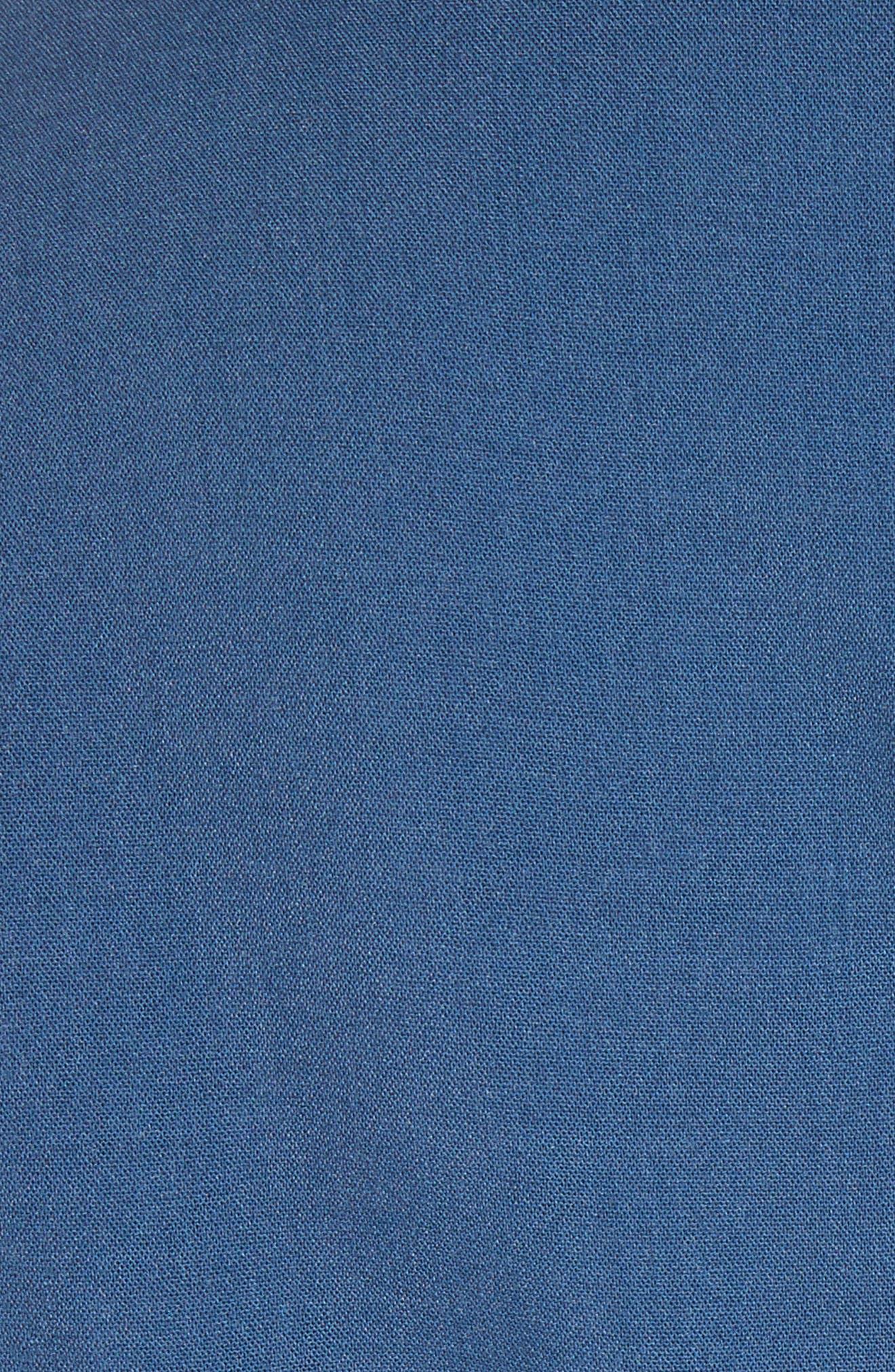 Gianna Asymmetrical Satin Dress,                             Alternate thumbnail 6, color,                             400