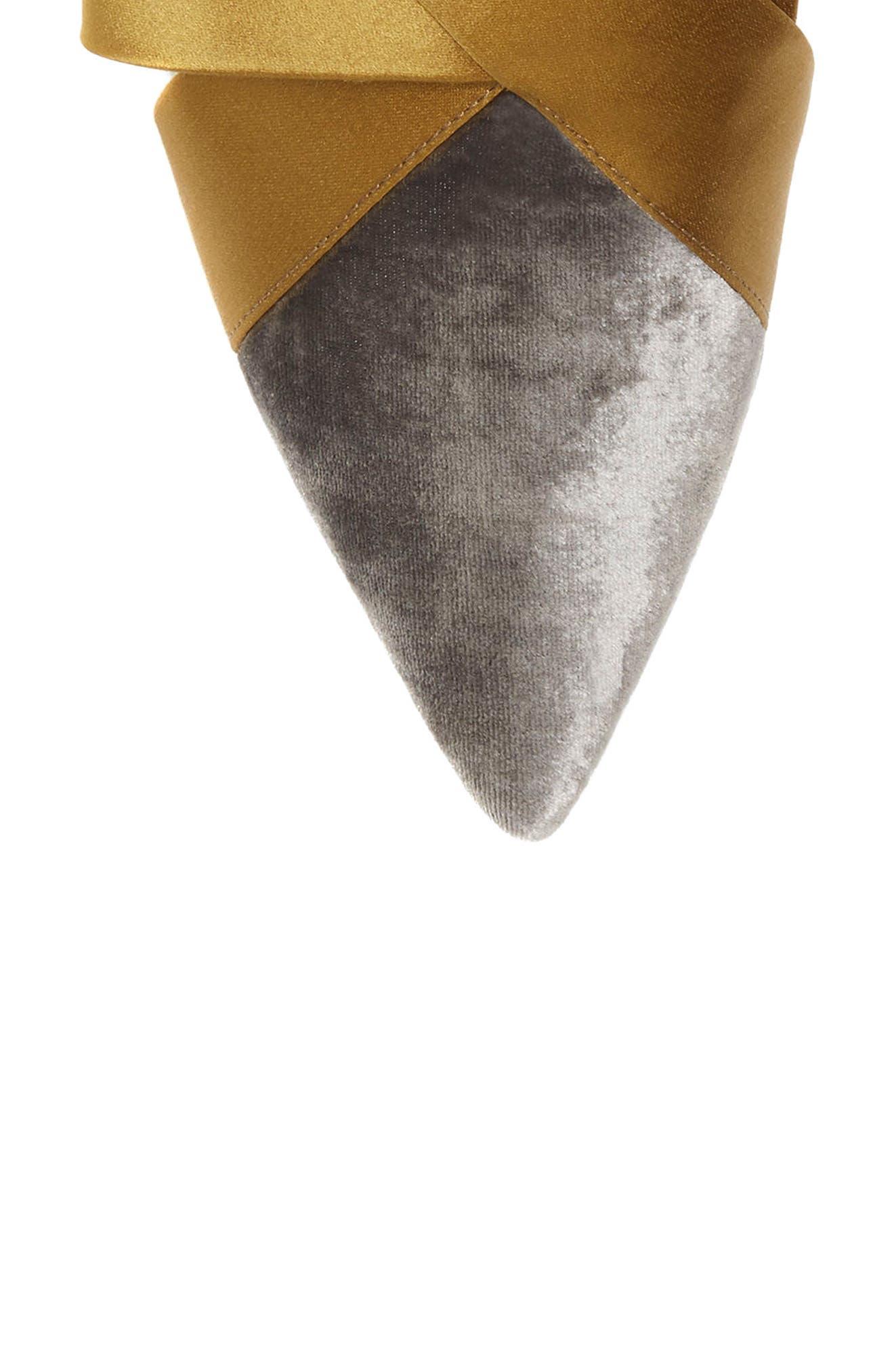 Cresida Pointy Toe Mule,                             Alternate thumbnail 7, color,                             020