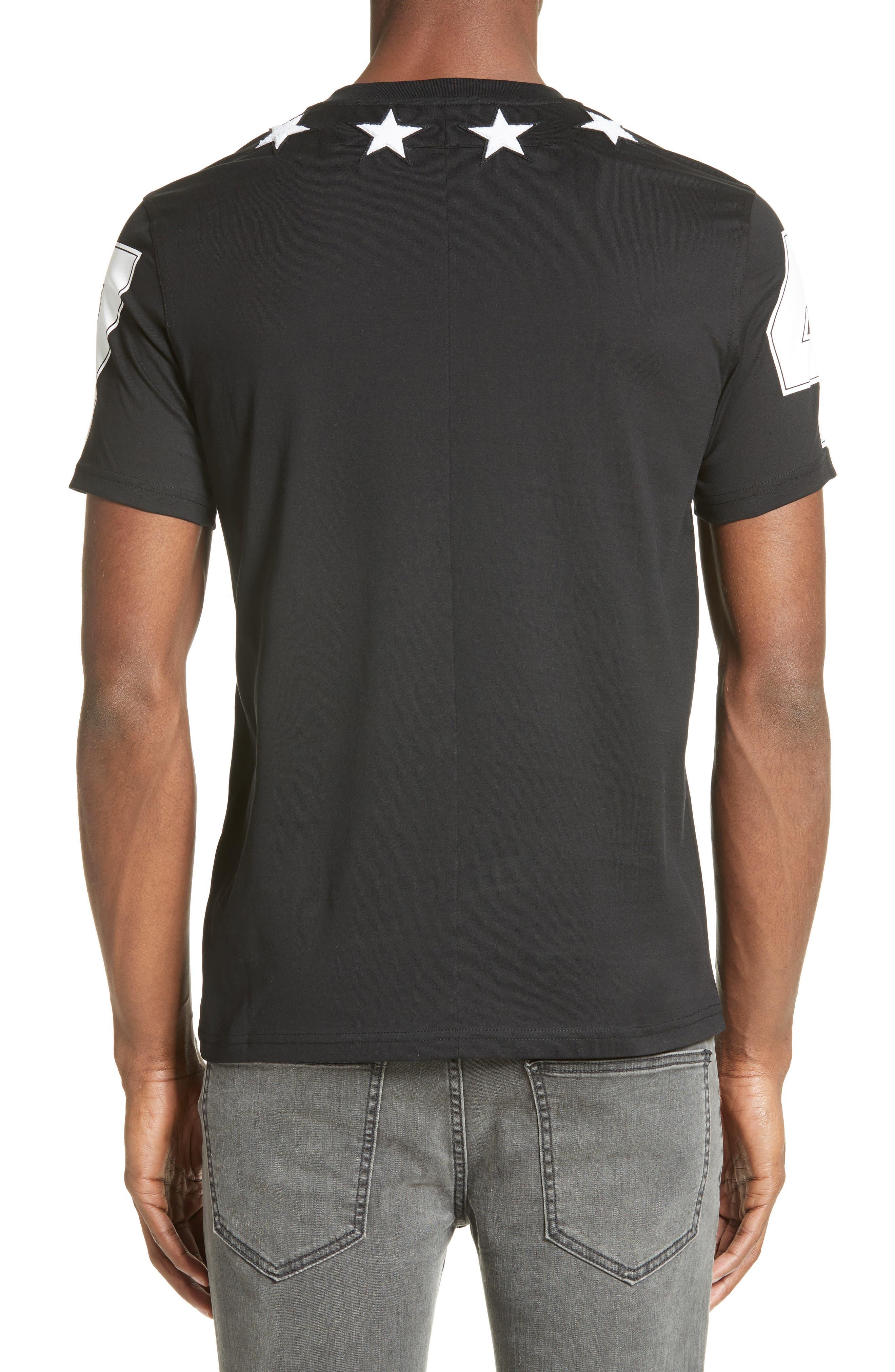 Star 74 T-Shirt,                             Alternate thumbnail 2, color,                             001