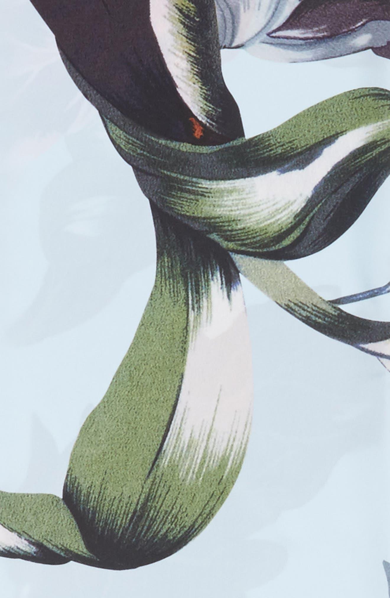 Eden Skinny Scarf,                             Alternate thumbnail 4, color,                             400