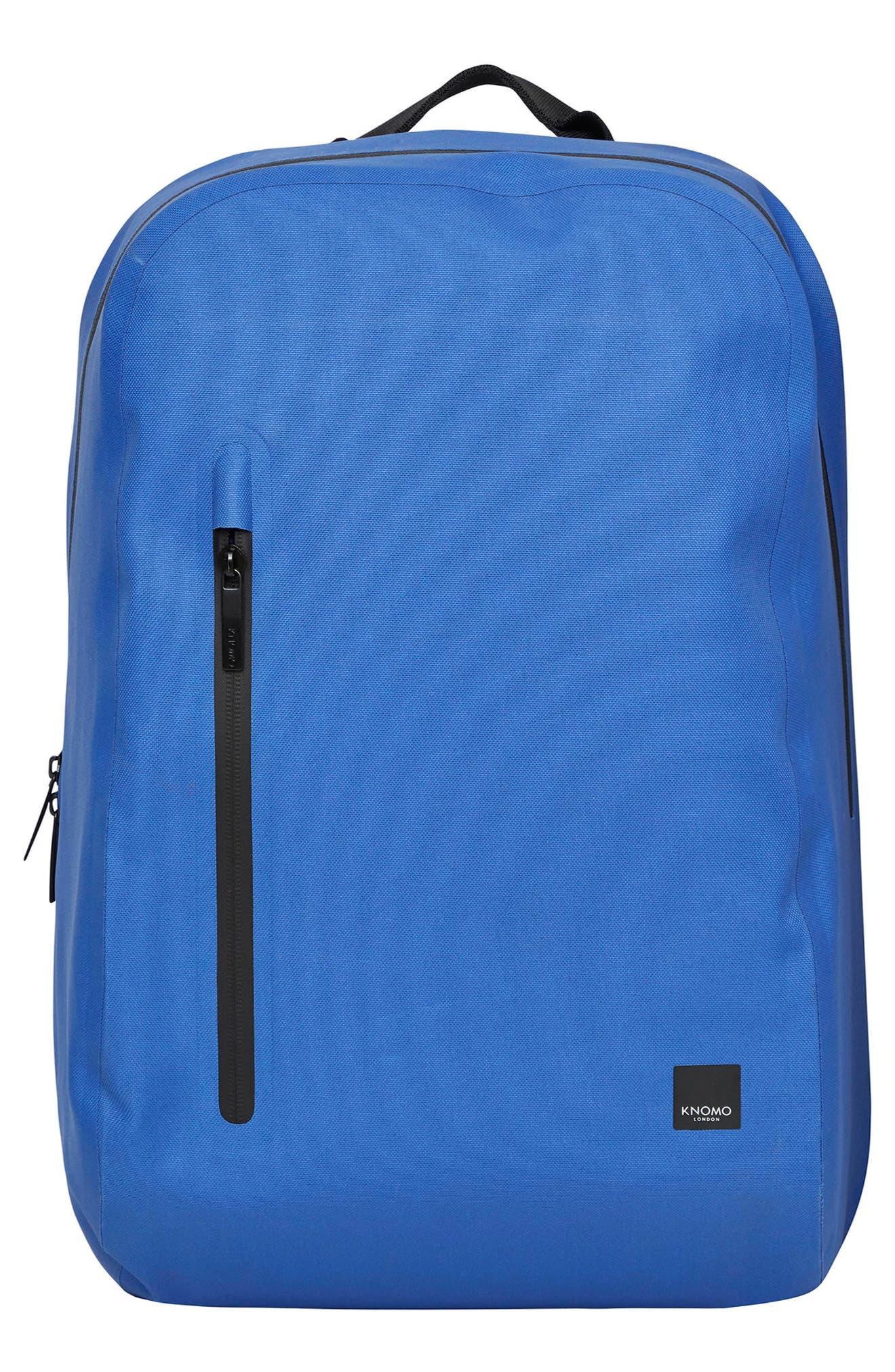 KNOMO LONDON Thames Harpsden Backpack, Main, color, AZURE BLUE