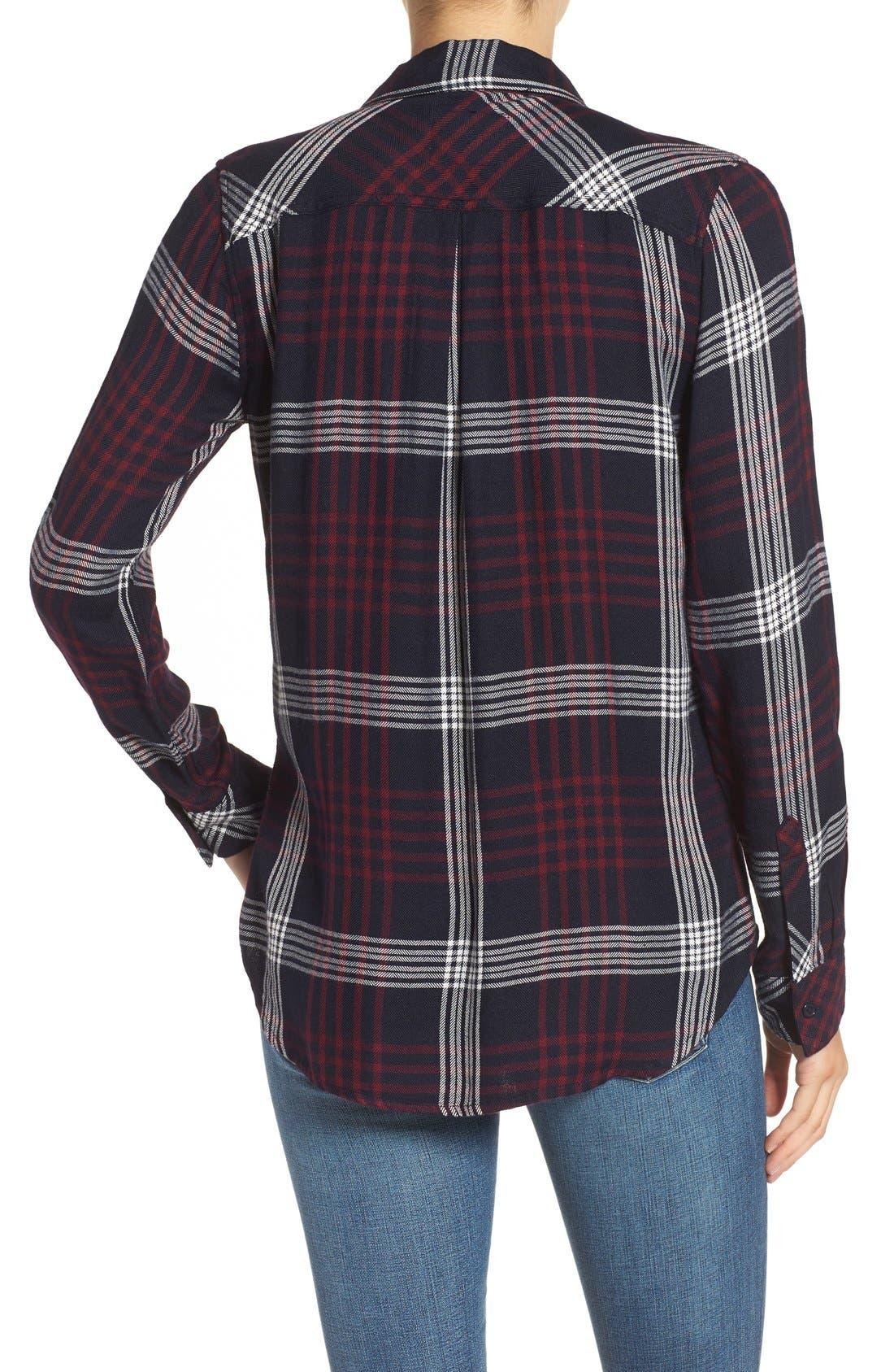 Hunter Plaid Shirt,                             Alternate thumbnail 534, color,