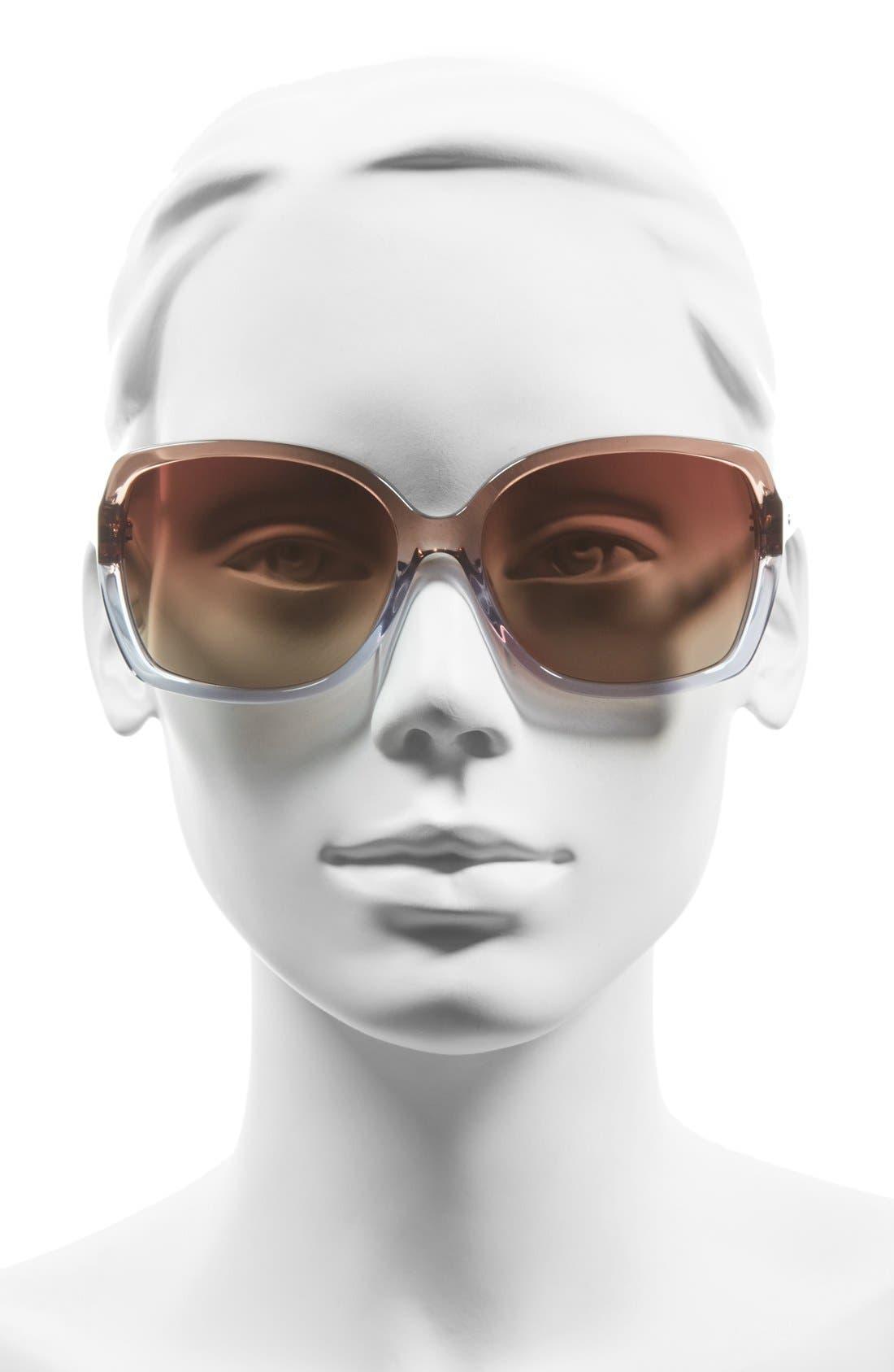 'darilynn' 58mm polarized sunglasses,                             Alternate thumbnail 6, color,