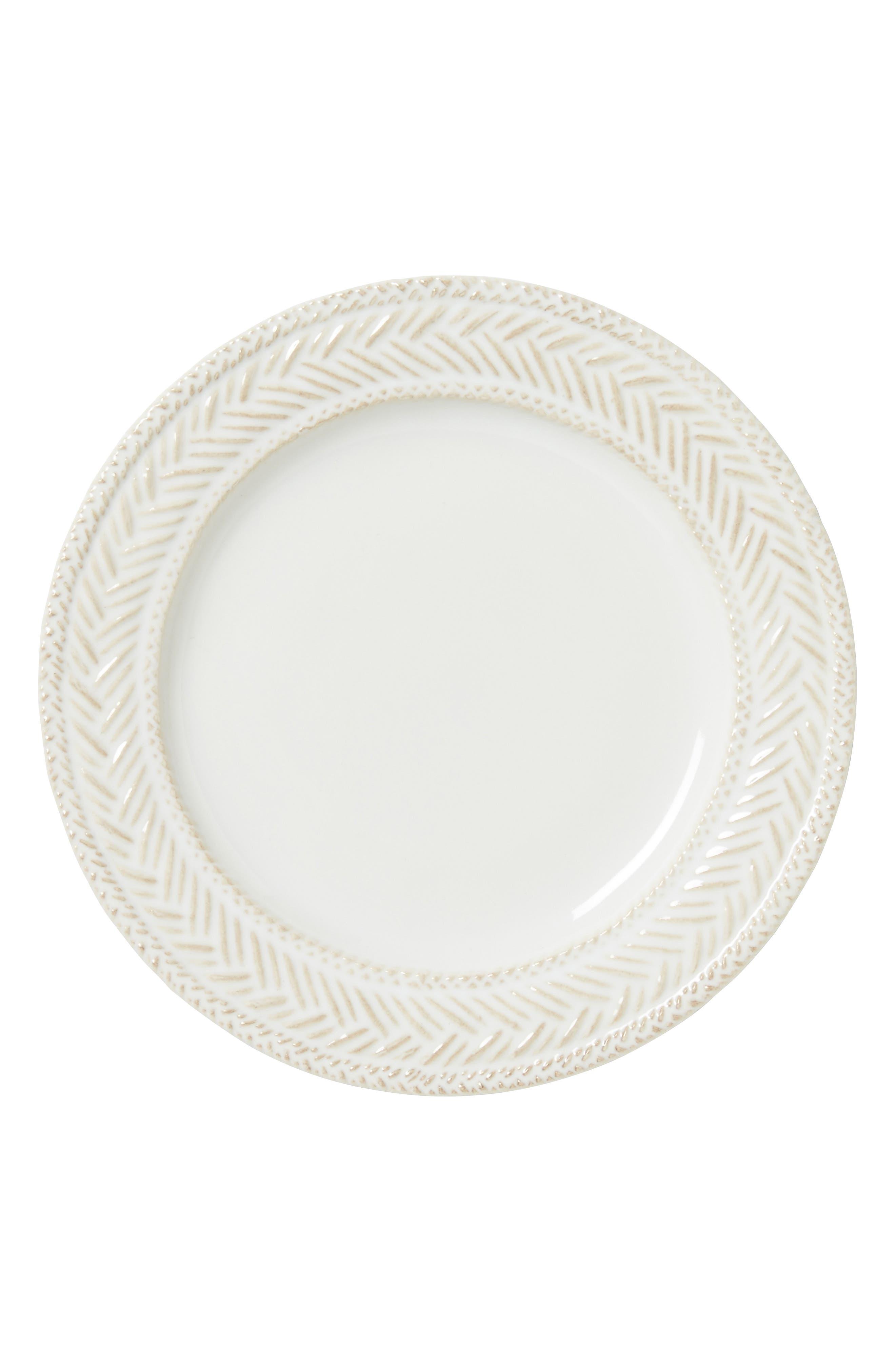 Le Panier Whitewash Side Plate,                             Main thumbnail 1, color,                             WHITEWASH