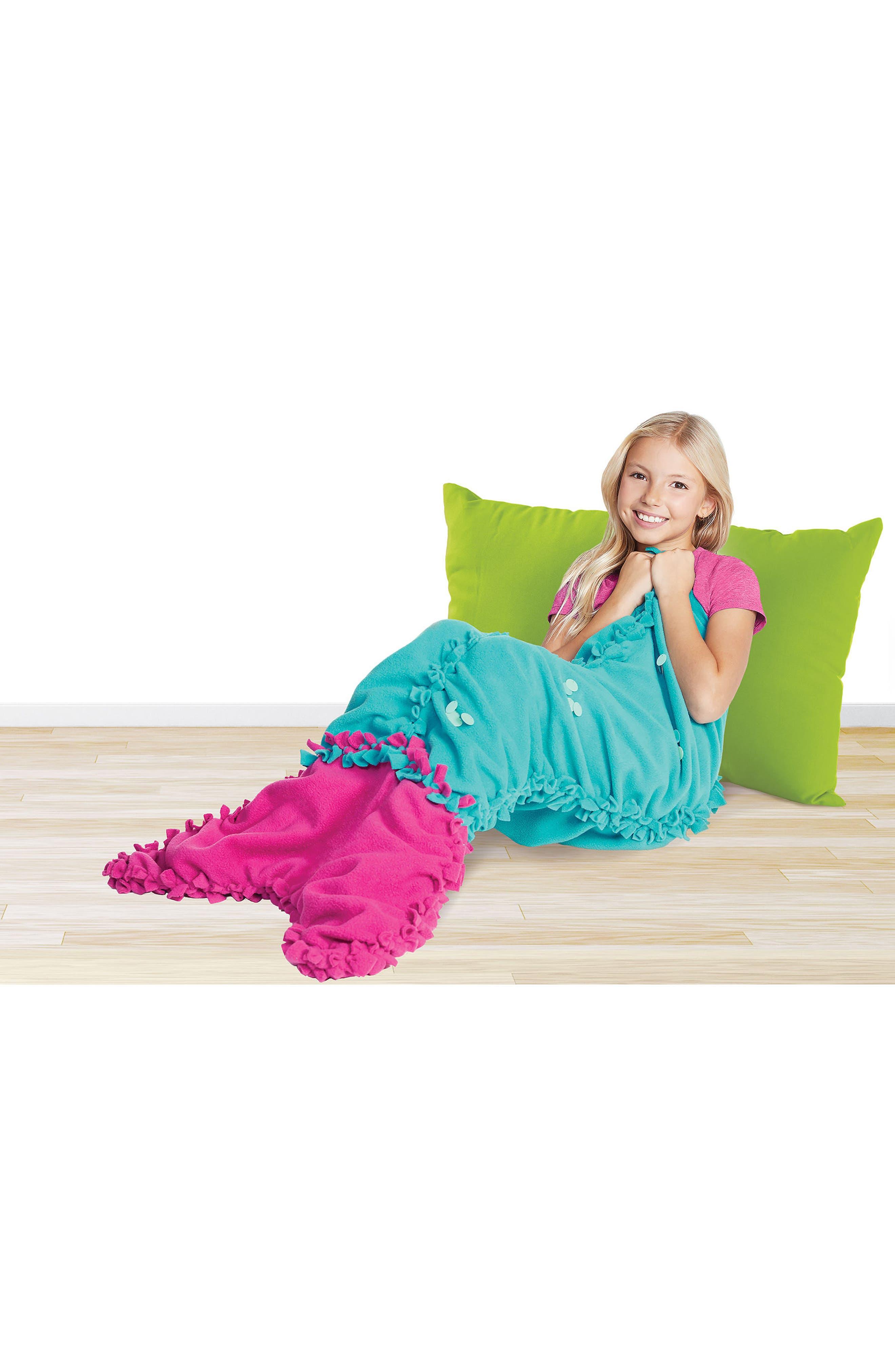 Knot & Bling Mermaid Tail Kit,                             Alternate thumbnail 4, color,                             650