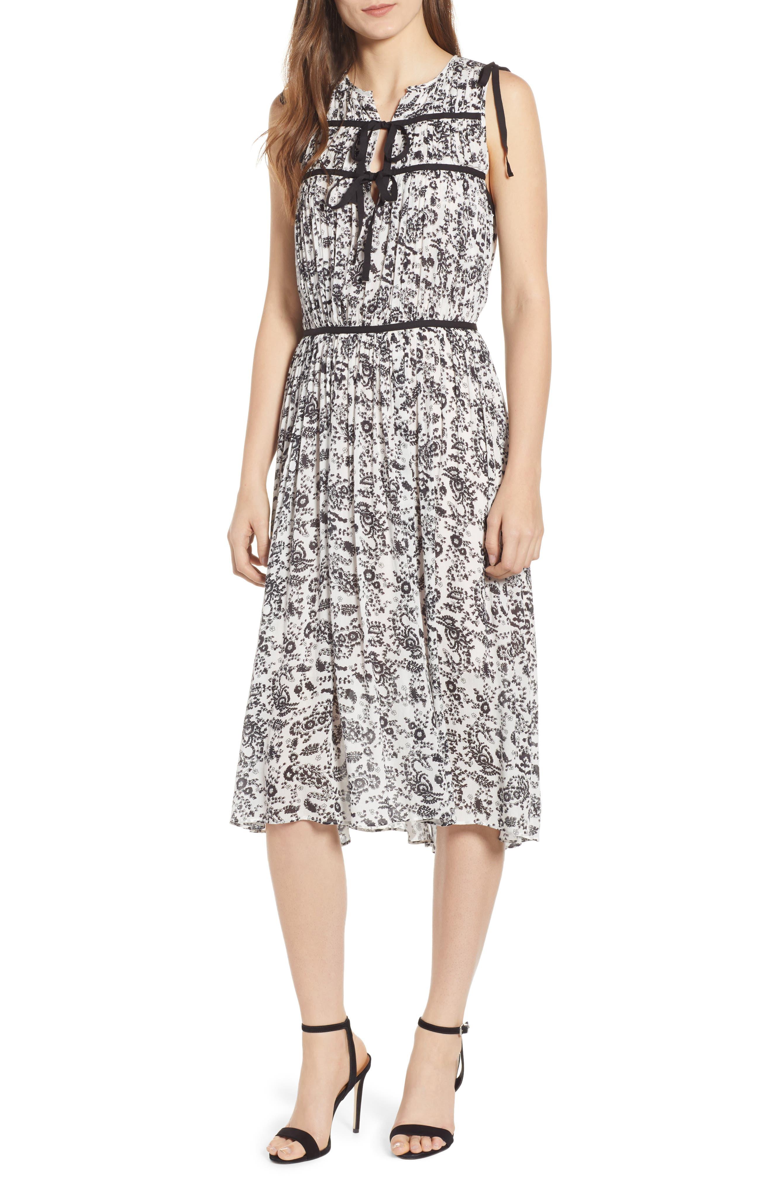 Rebecca Minkoff Thea Midi Dress, White