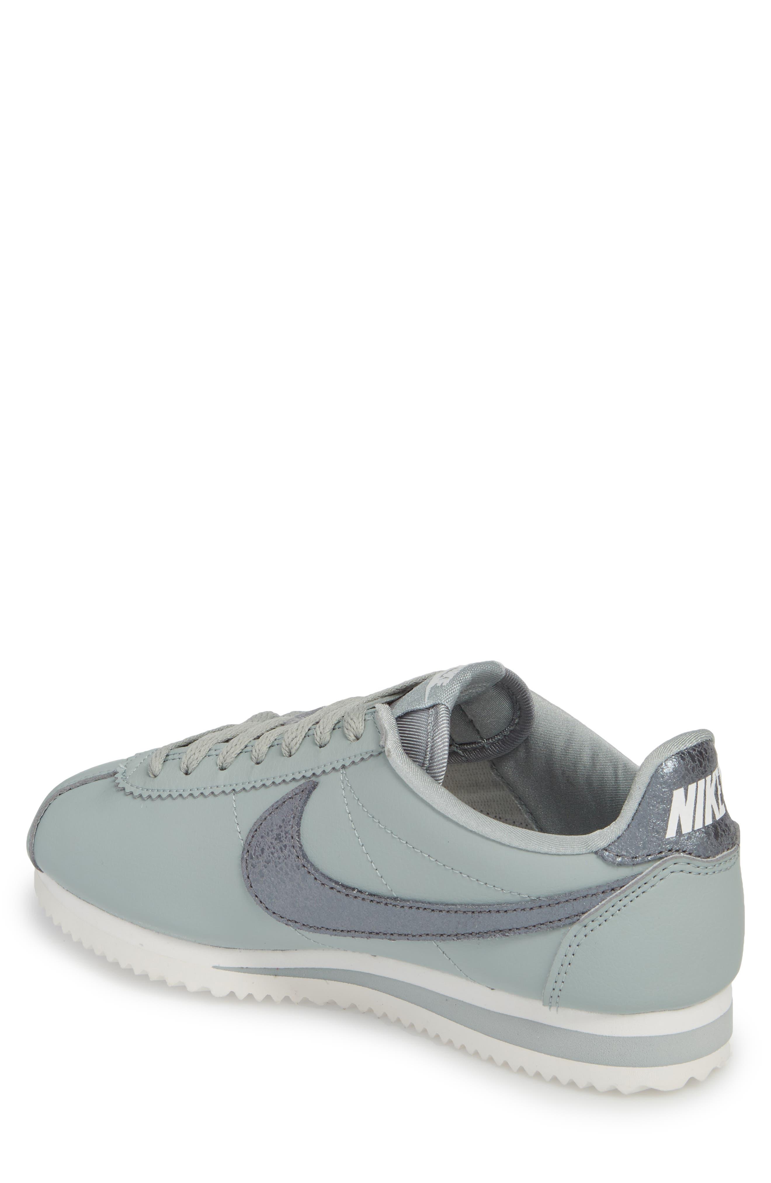 Classic Cortez Premium Sneaker,                             Alternate thumbnail 2, color,                             028