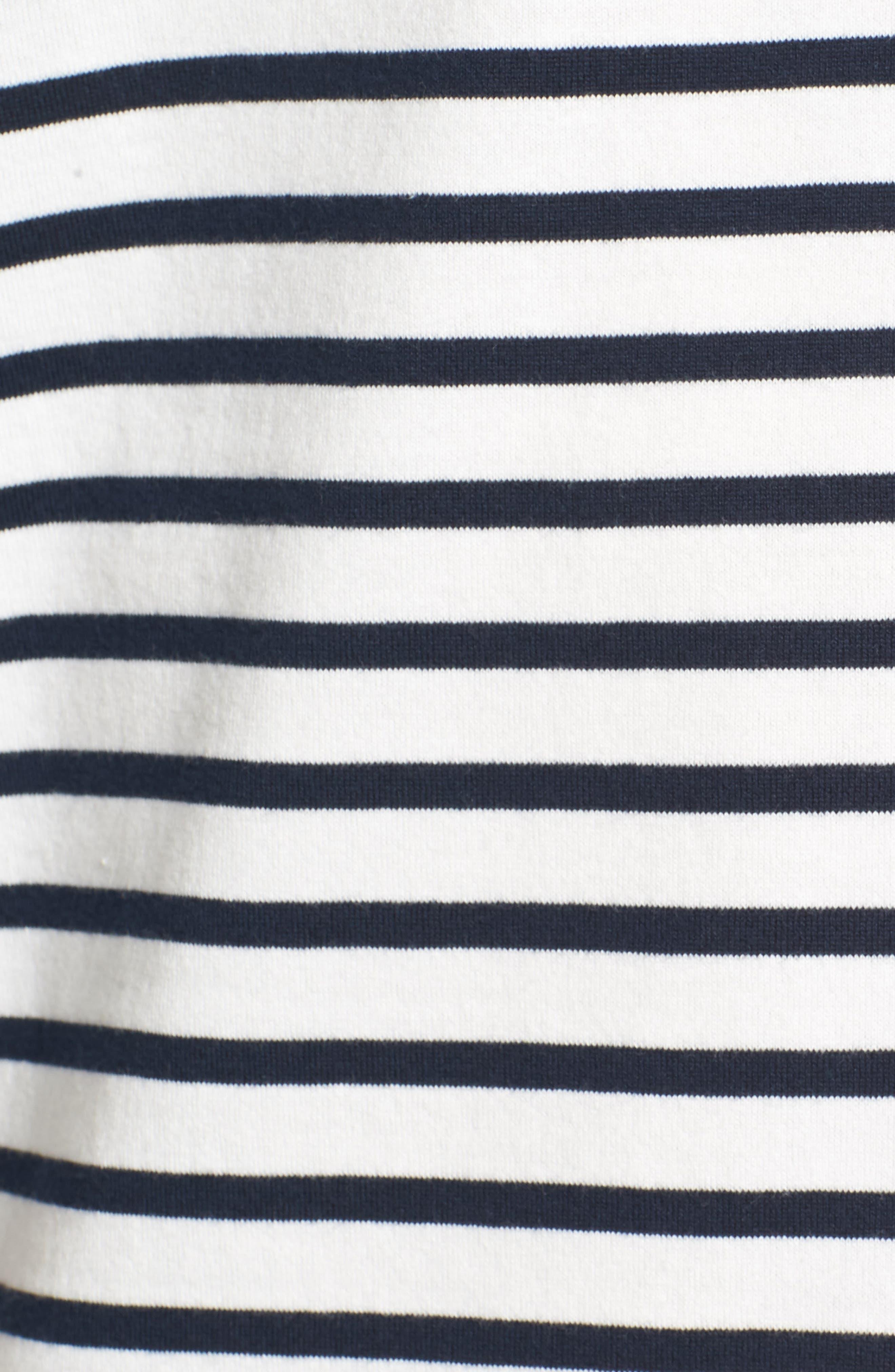 Julian Stripe Crewneck T-Shirt,                             Alternate thumbnail 9, color,