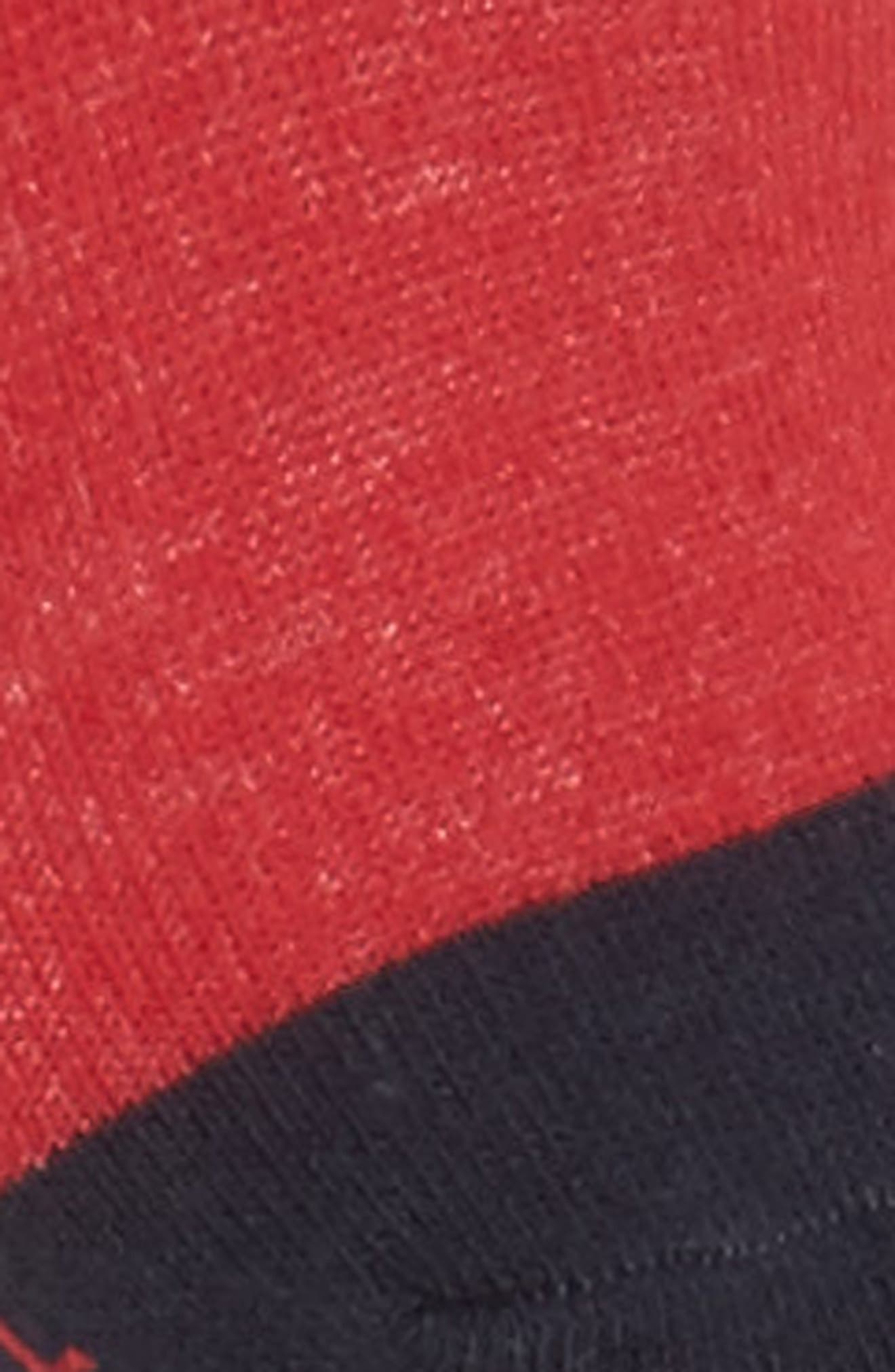 Flag Logo No-Show Socks,                             Alternate thumbnail 3, color,