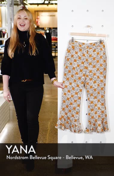 Leopard Spot Frill Trousers, sales video thumbnail