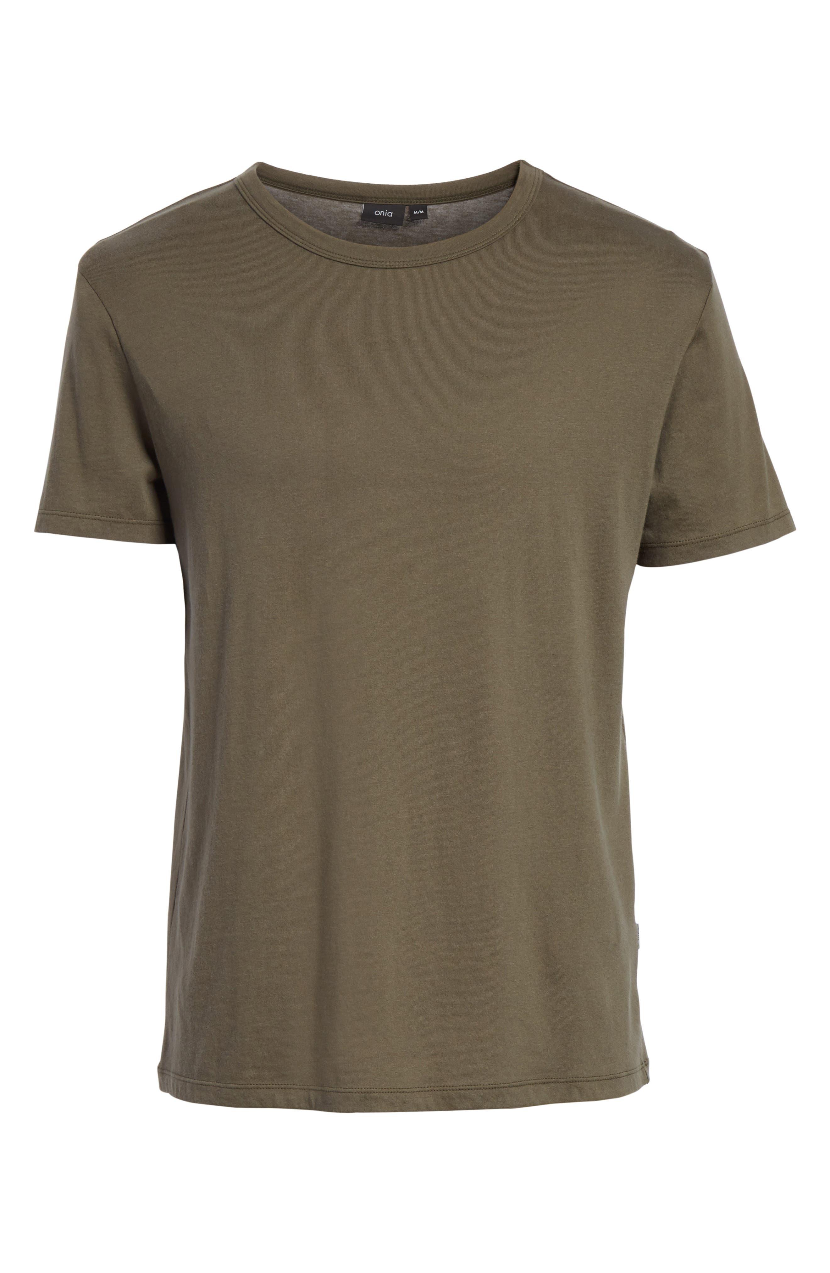 Johnny Sun Palm Graphic T-Shirt,                             Alternate thumbnail 6, color,                             DEEP SAGE