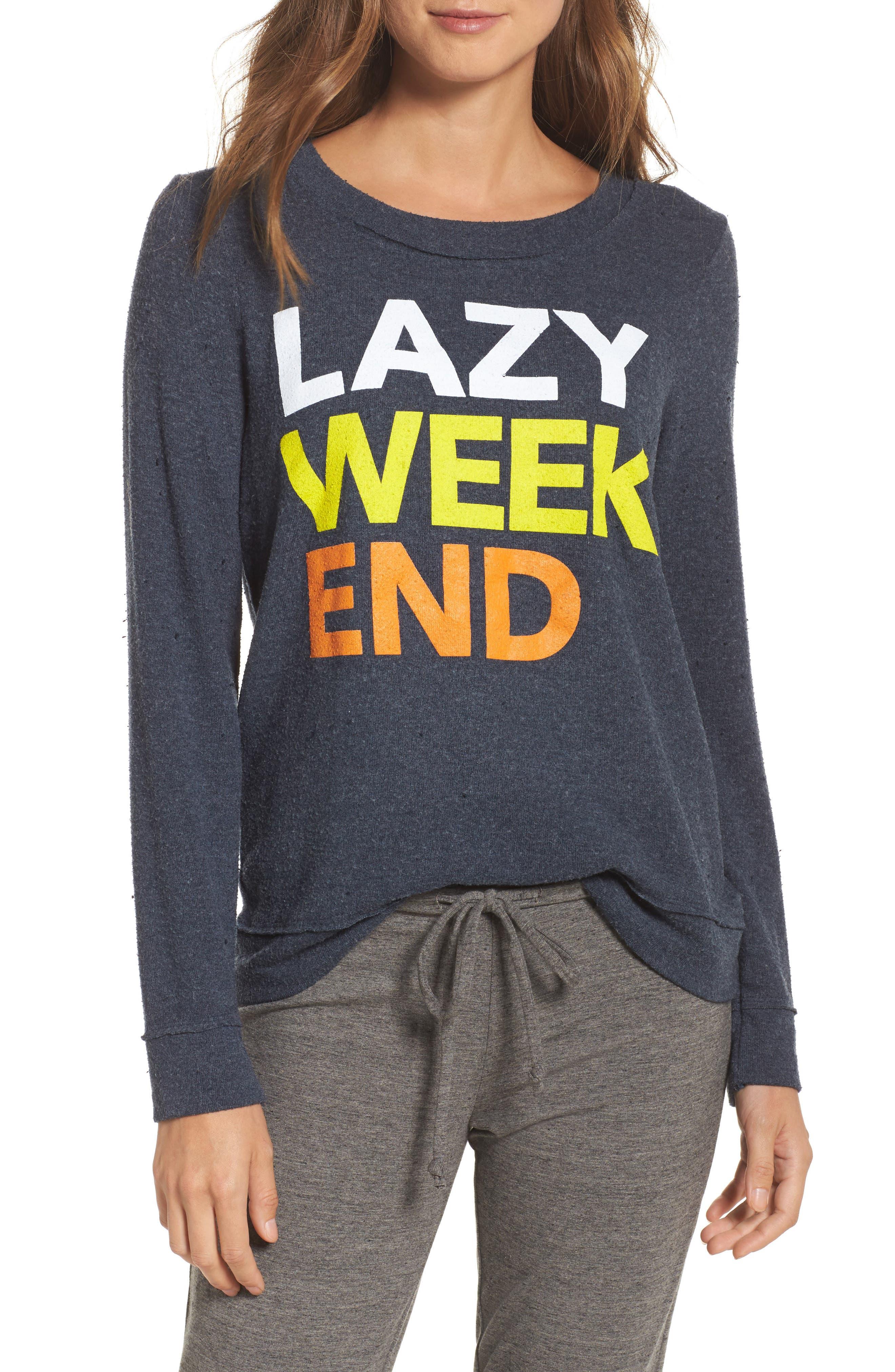 Lazy Weekend Love Knit Sweatshirt,                             Main thumbnail 1, color,                             414