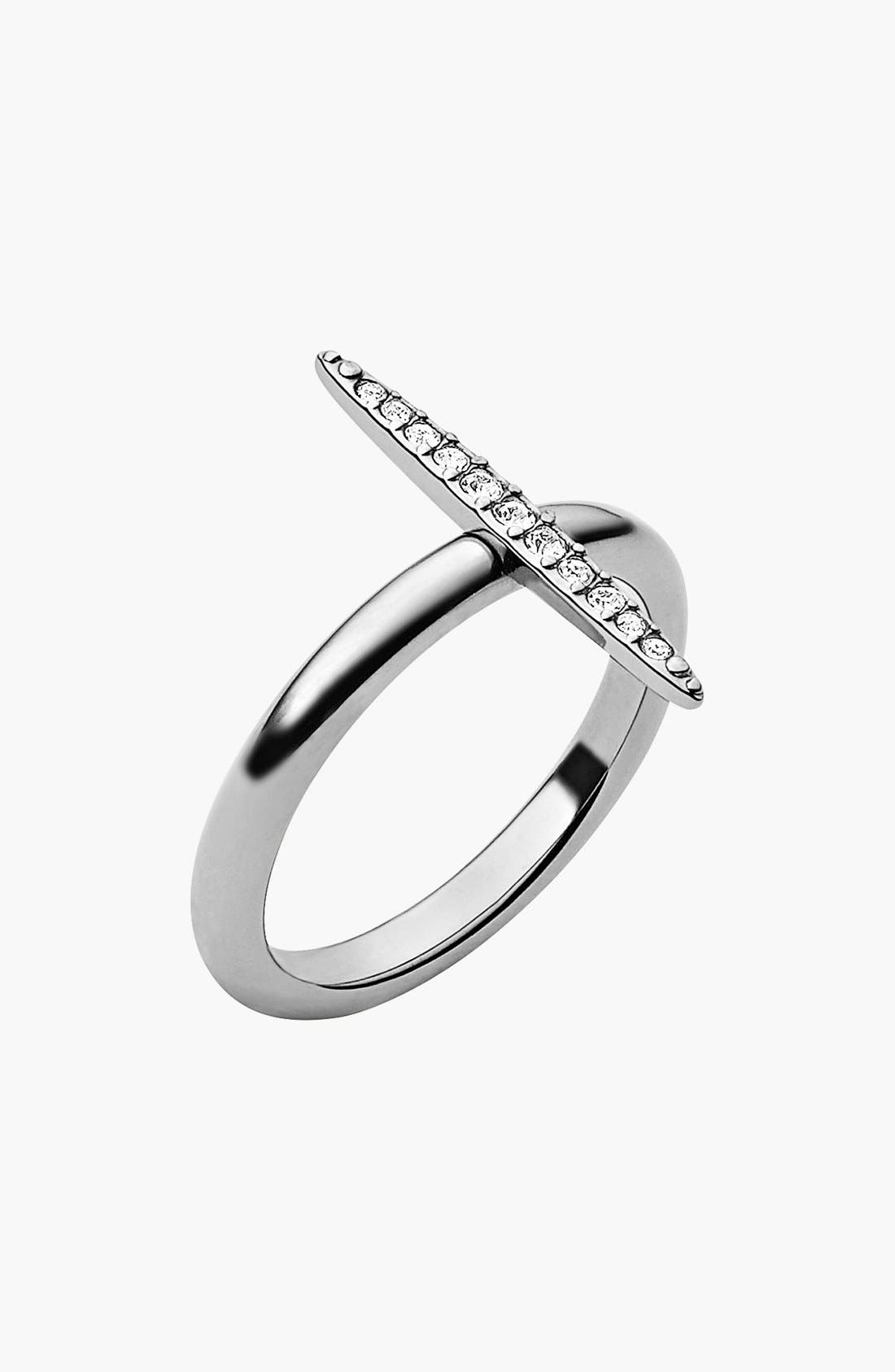 Michael Kors 'Matchstick' Pavé Ring,                         Main,                         color, 040