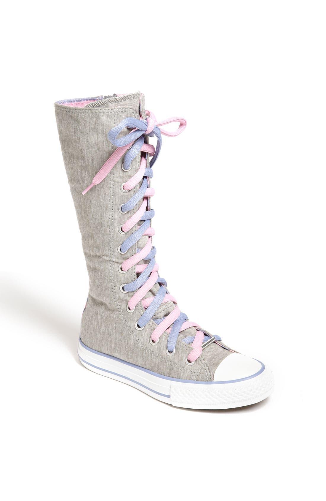 'CT X-Hi' Tall Sneaker, Main, color, 020