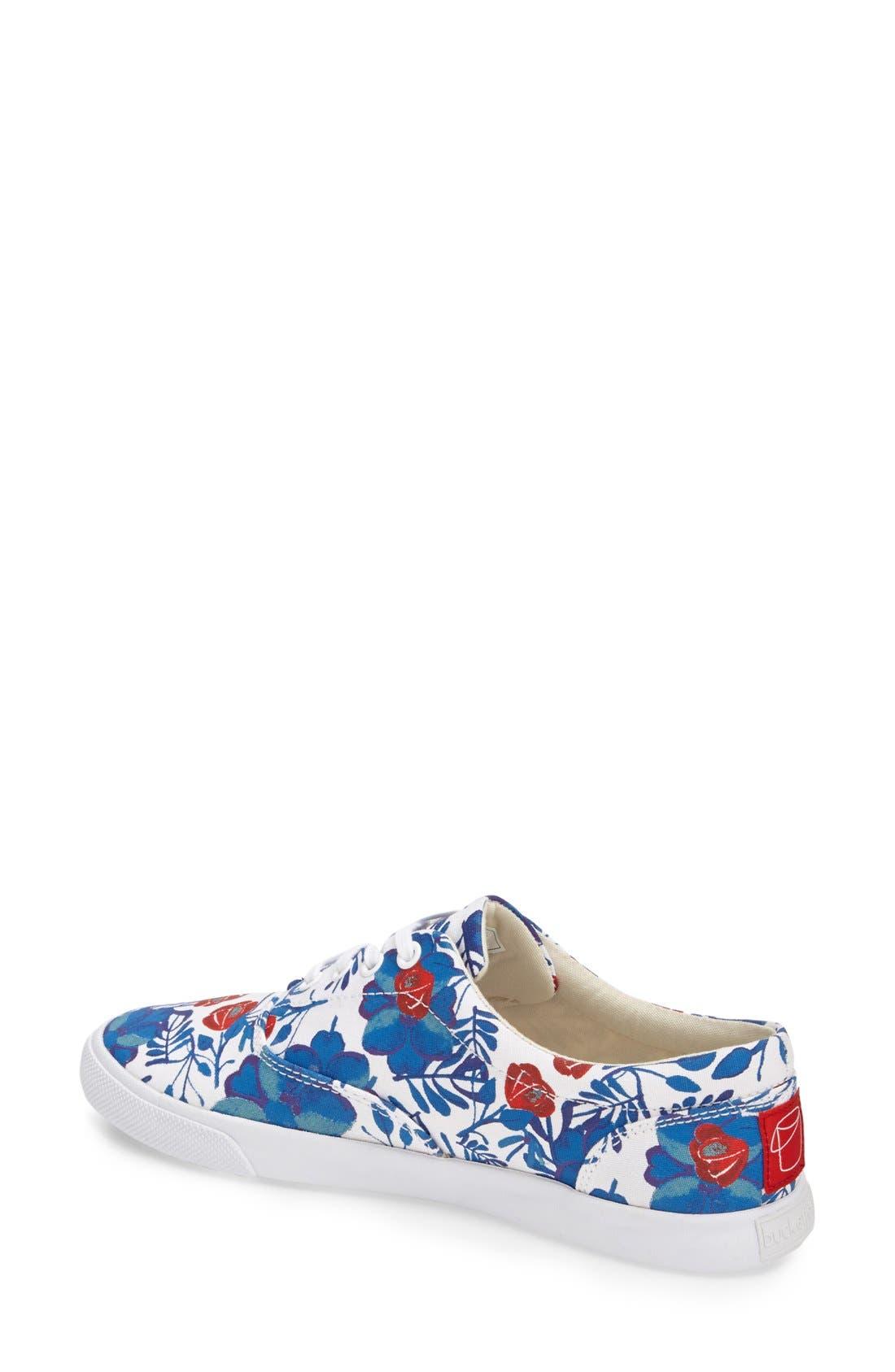 'Floral' Sneaker,                             Alternate thumbnail 3, color,                             400