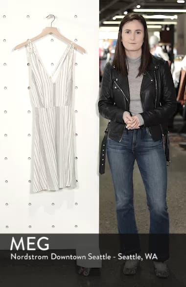 Stripe Strappy Swing Dress, sales video thumbnail