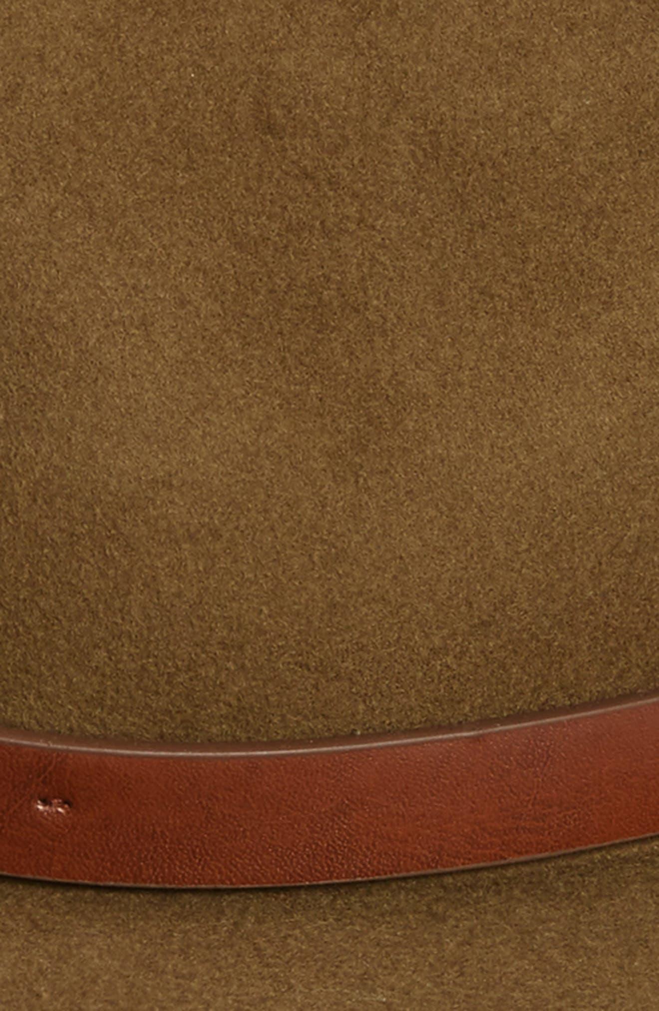 'Messer' Wool Fedora,                             Alternate thumbnail 7, color,