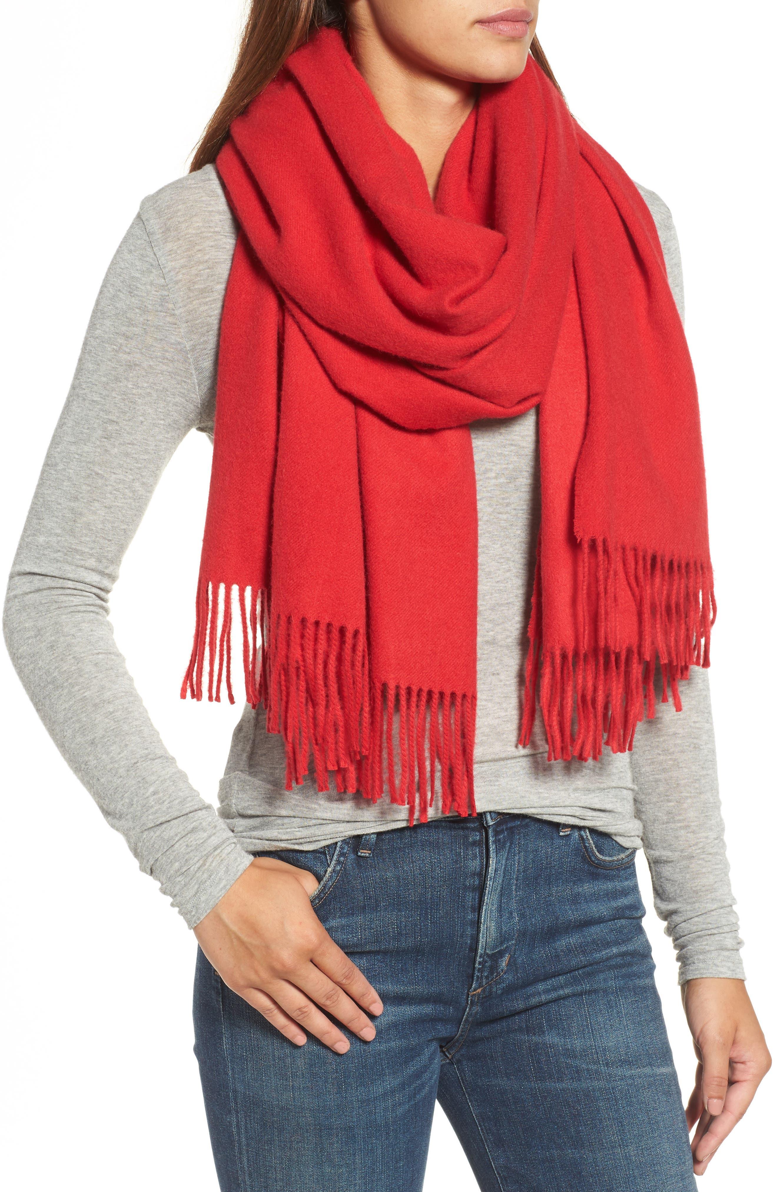 Oversize Cashmere Wrap,                             Alternate thumbnail 23, color,