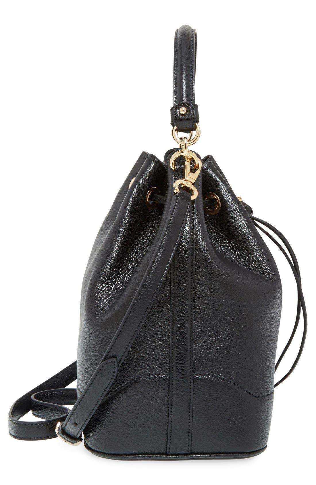 'Mille' Bucket Bag,                             Alternate thumbnail 2, color,                             001