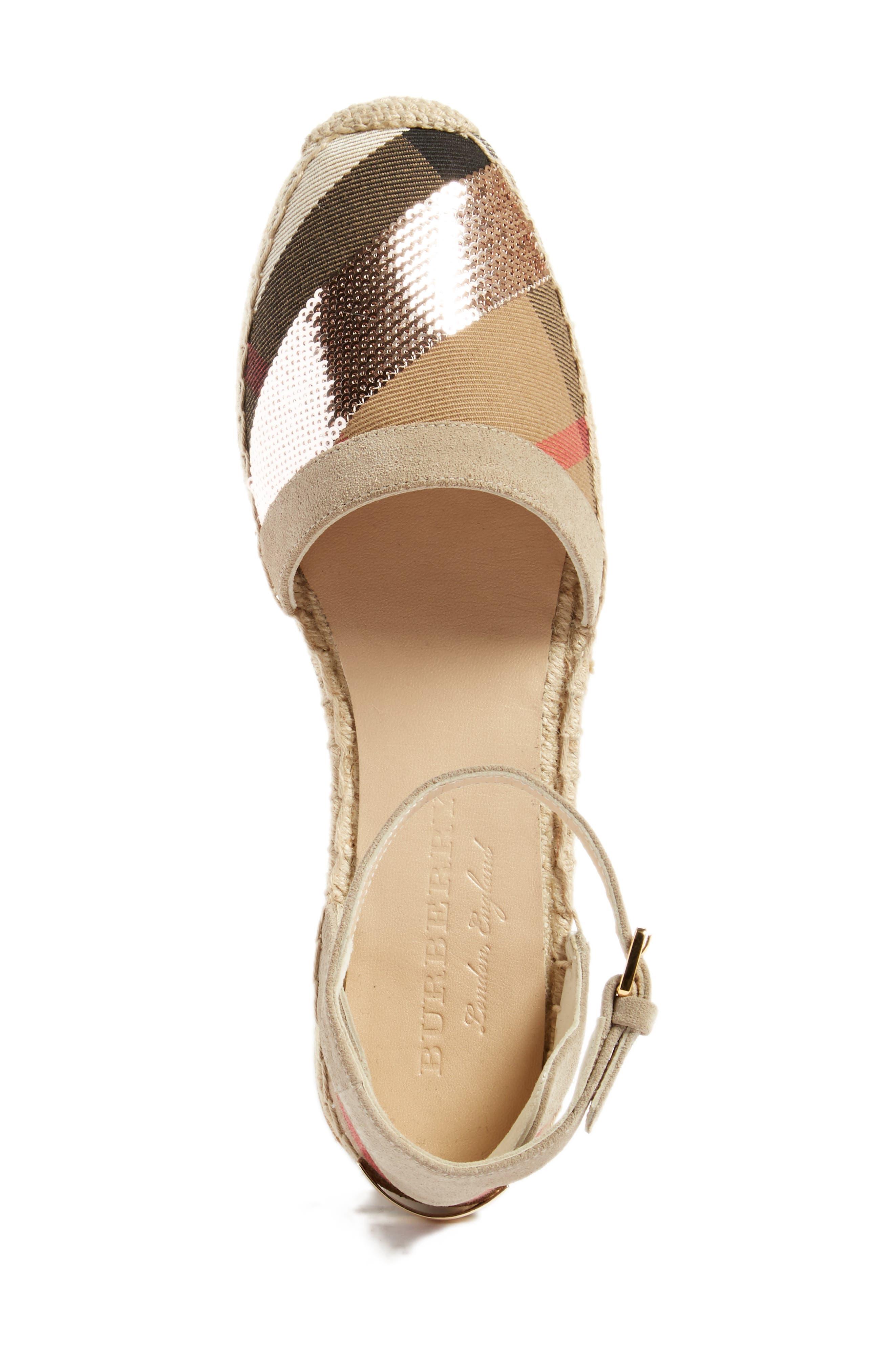 'Abbingdon' Ankle Strap Espadrille Sandal,                             Alternate thumbnail 7, color,